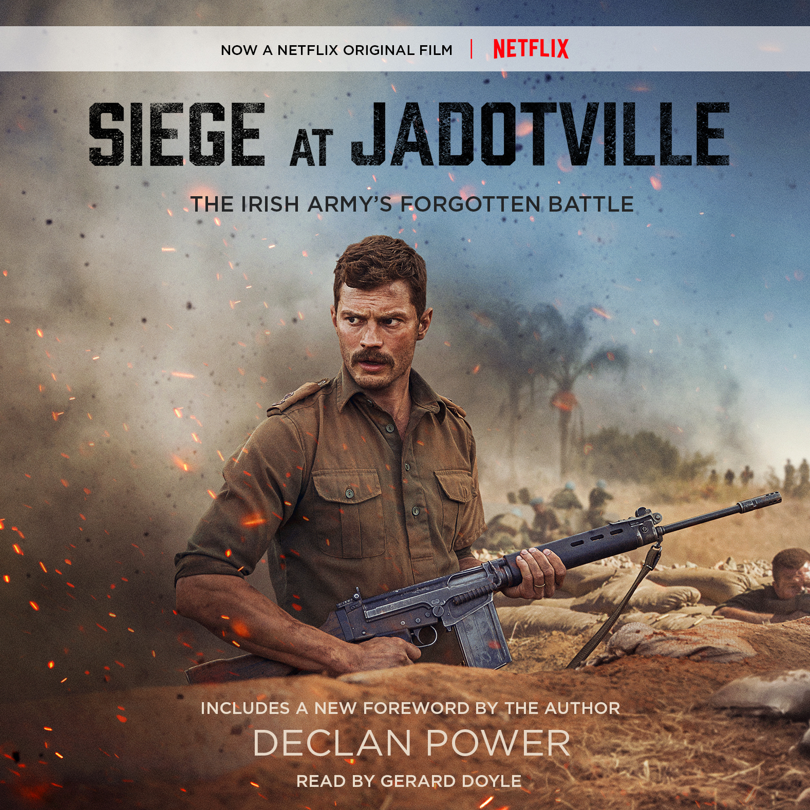Printable Siege at Jadotville: The Irish Army's Forgotten Battle Audiobook Cover Art