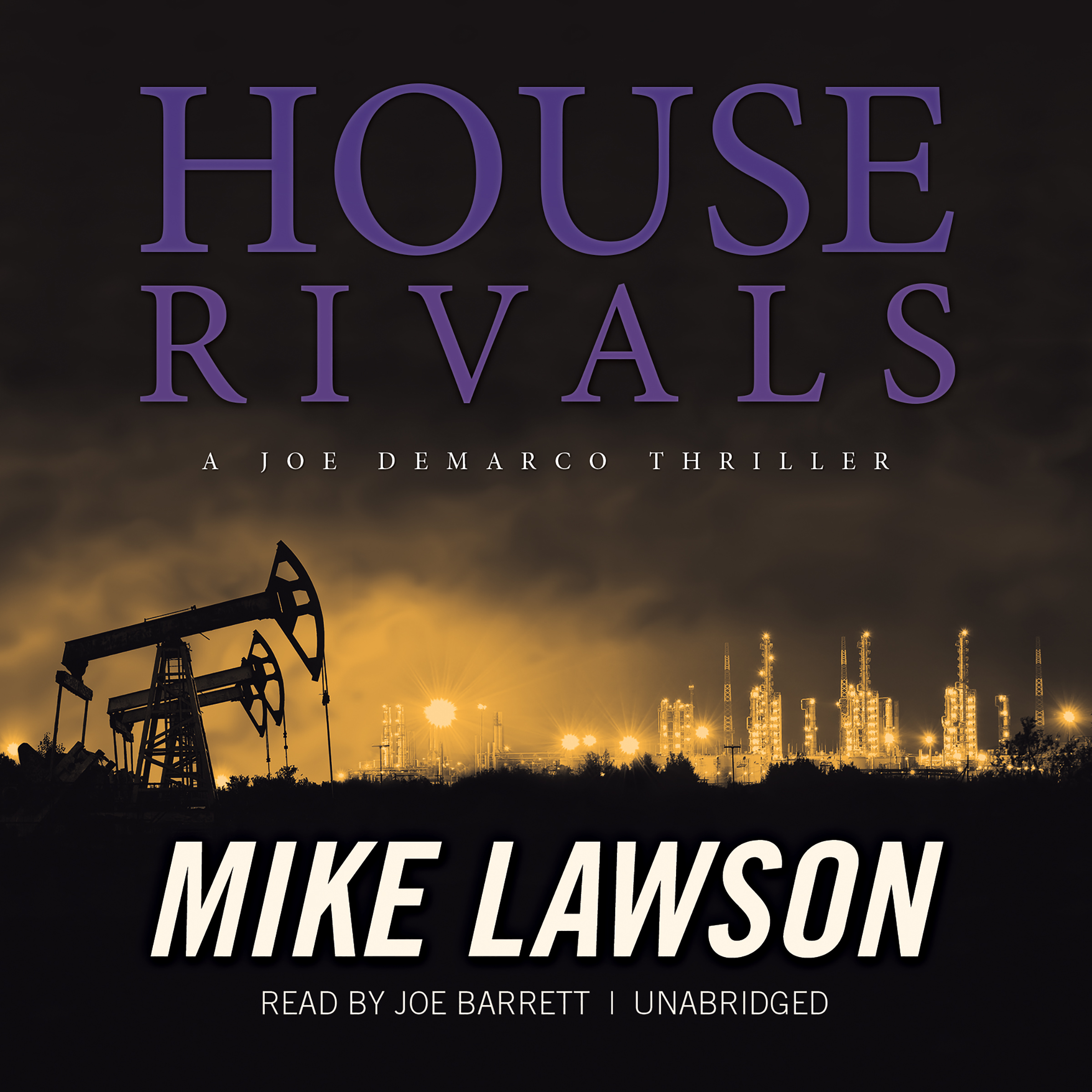 Printable House Rivals: A Joe DeMarco Thriller Audiobook Cover Art