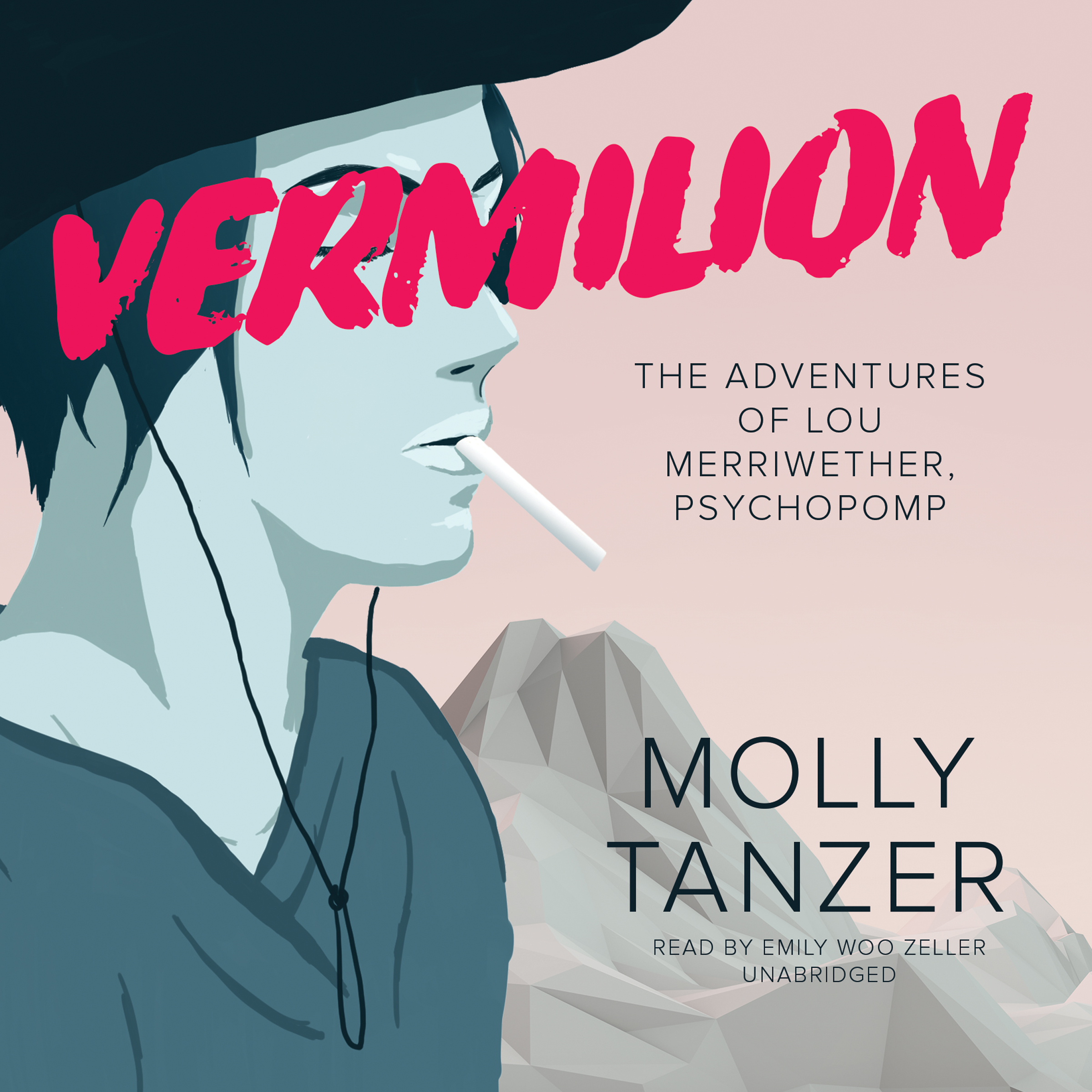 Printable Vermilion: The Adventures of Lou Merriwether, Psychopomp Audiobook Cover Art