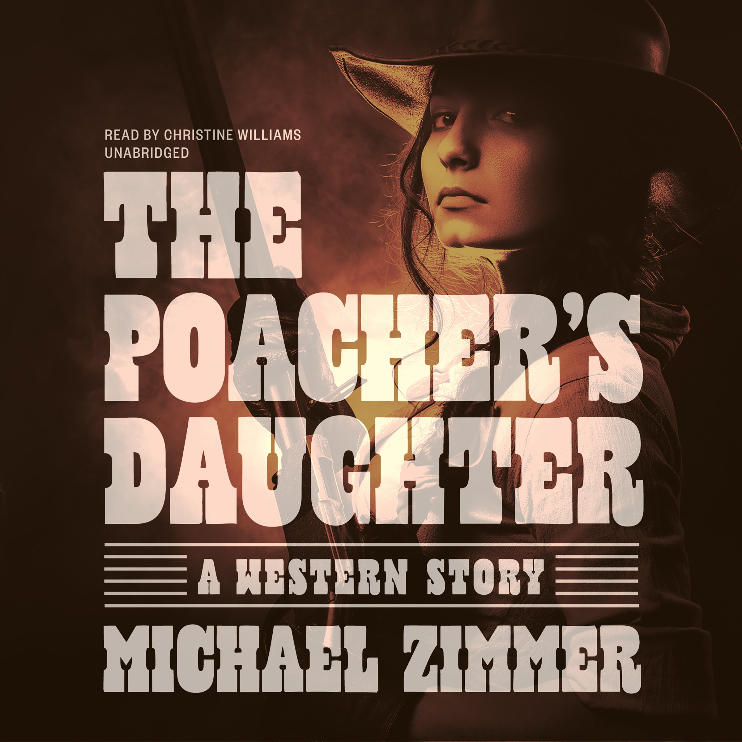 Printable The Poacher's Daughter: A Western Story Audiobook Cover Art