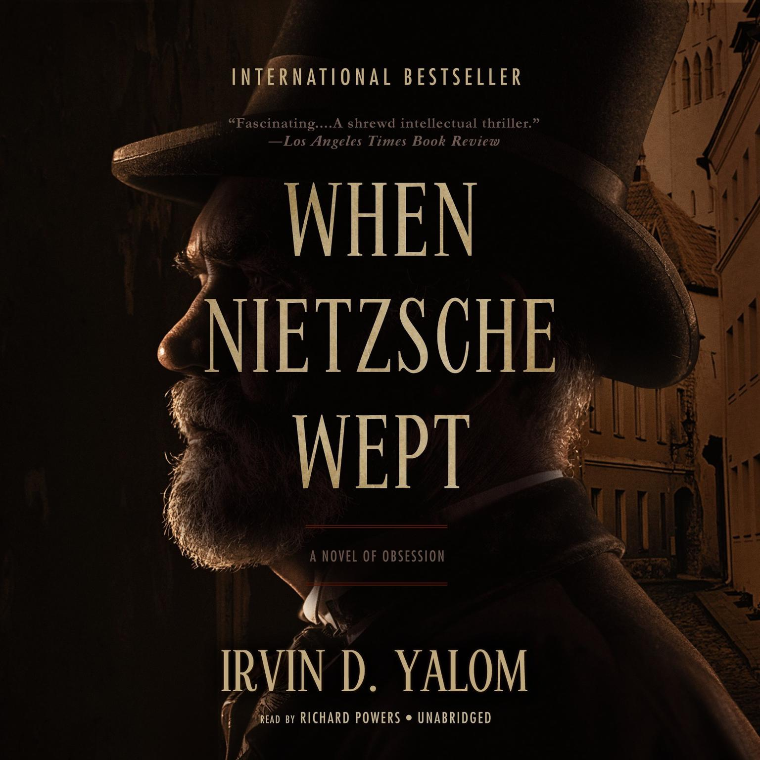 Printable When Nietzsche Wept Audiobook Cover Art