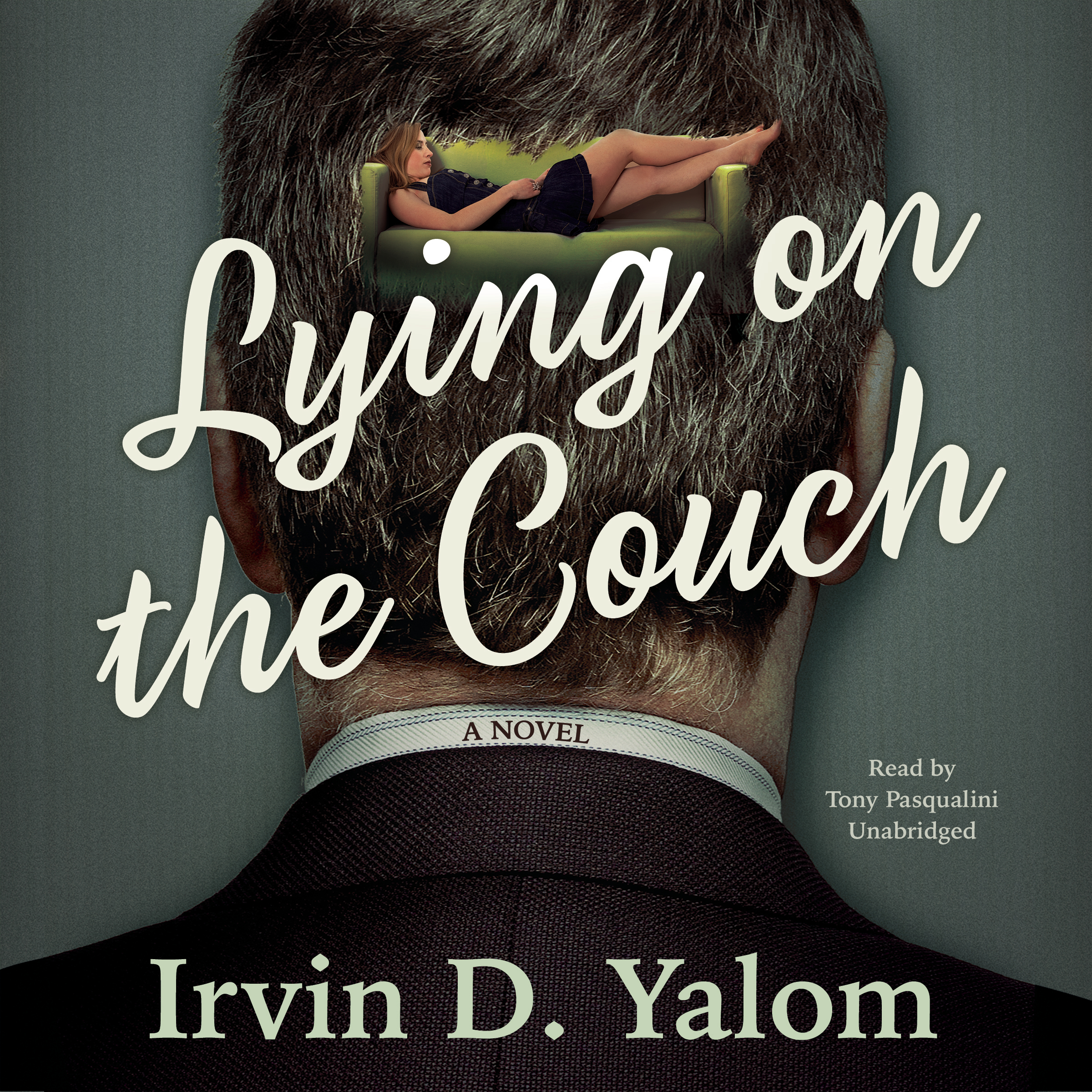 Printable Lying on the Couch: A Novel Audiobook Cover Art