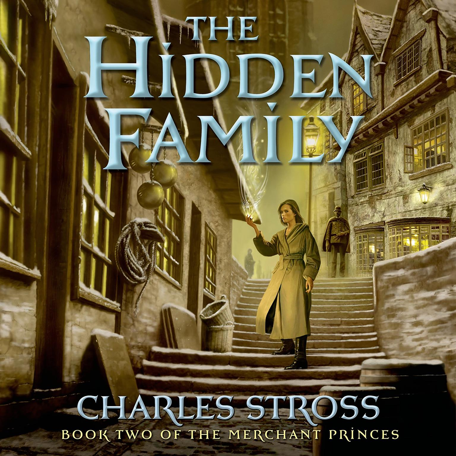 Printable The Hidden Family: Book Two of Merchant Princes Audiobook Cover Art