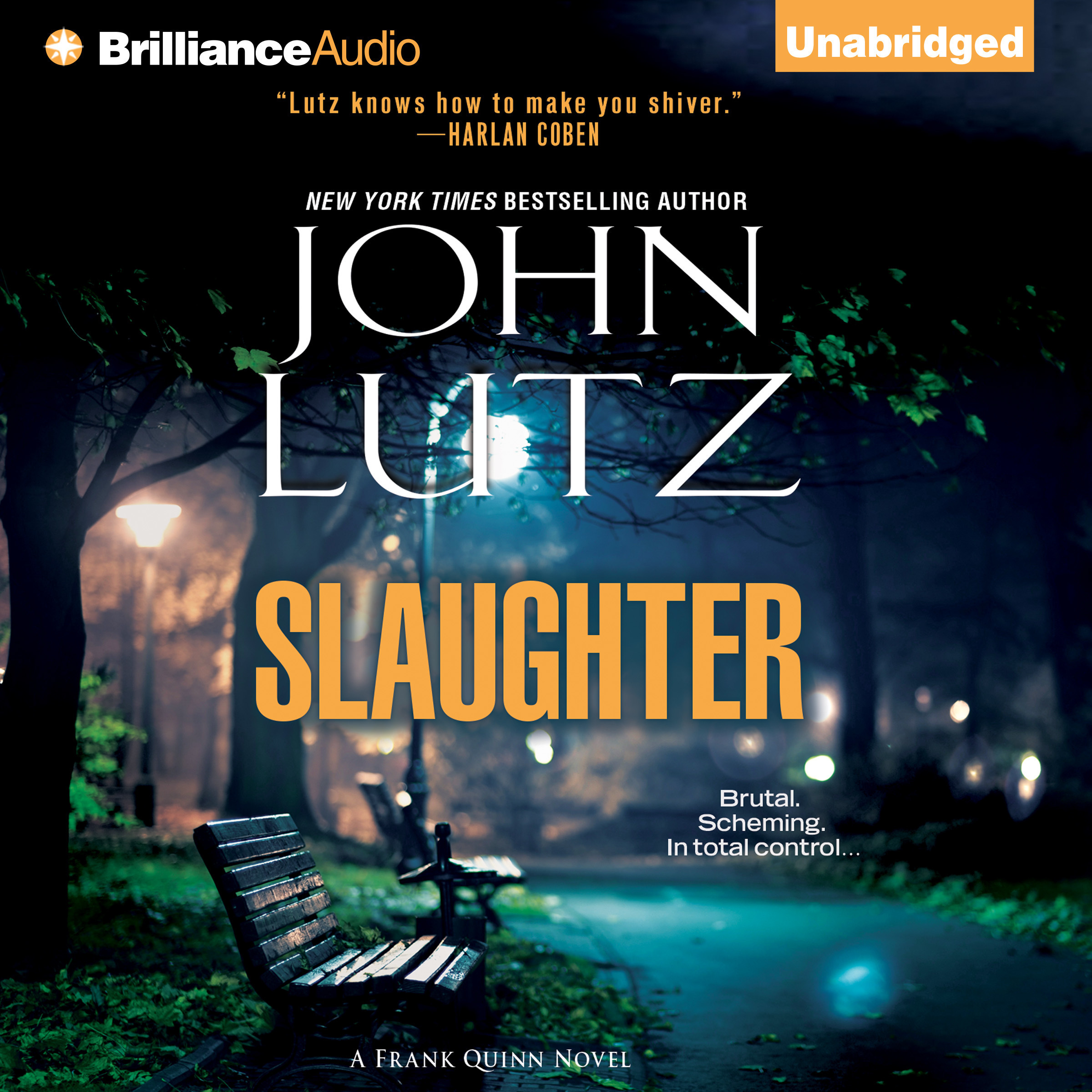 Printable Slaughter Audiobook Cover Art