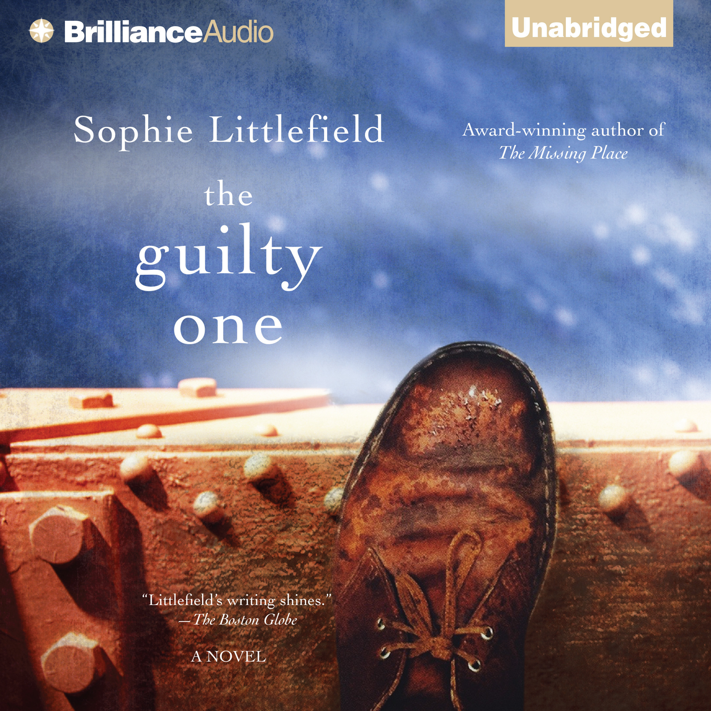 Printable The Guilty One Audiobook Cover Art