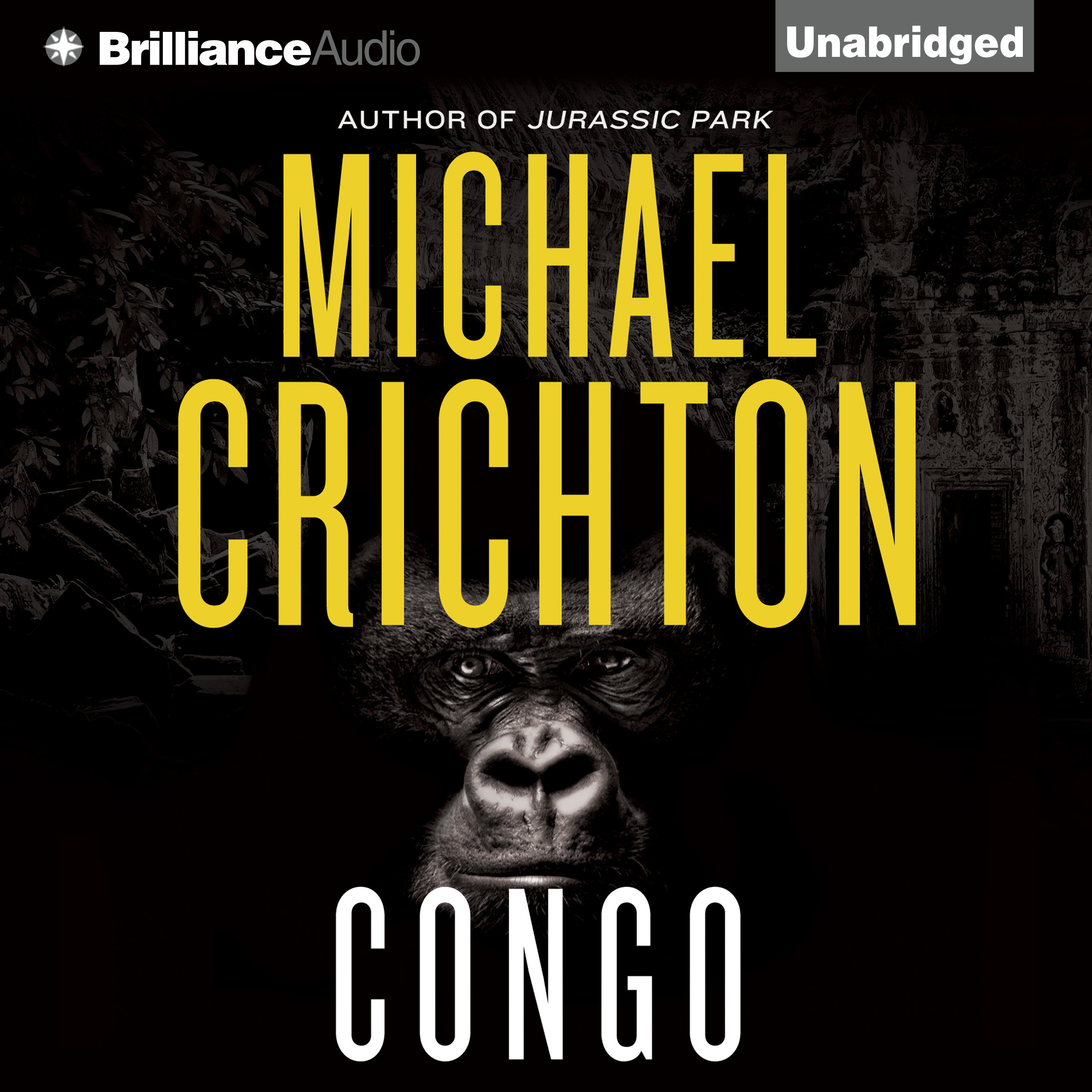 Printable Congo Audiobook Cover Art