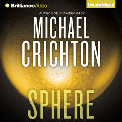 Sphere Audiobook, by Michael Crichton