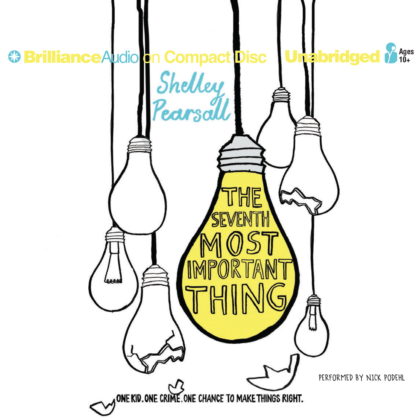 Printable The Seventh Most Important Thing Audiobook Cover Art