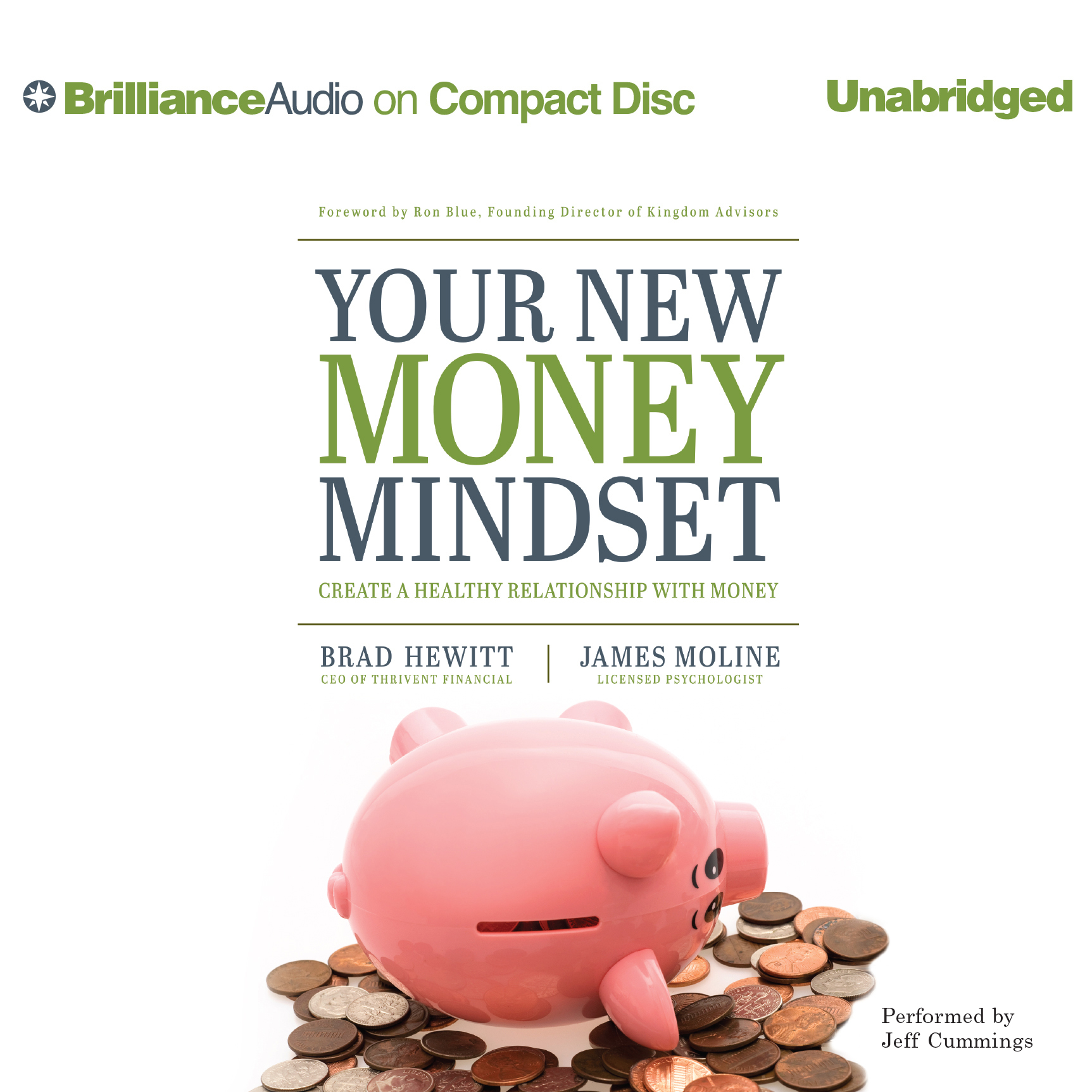 Printable Your New Money Mindset: Create a Healthy Relationship with Money Audiobook Cover Art