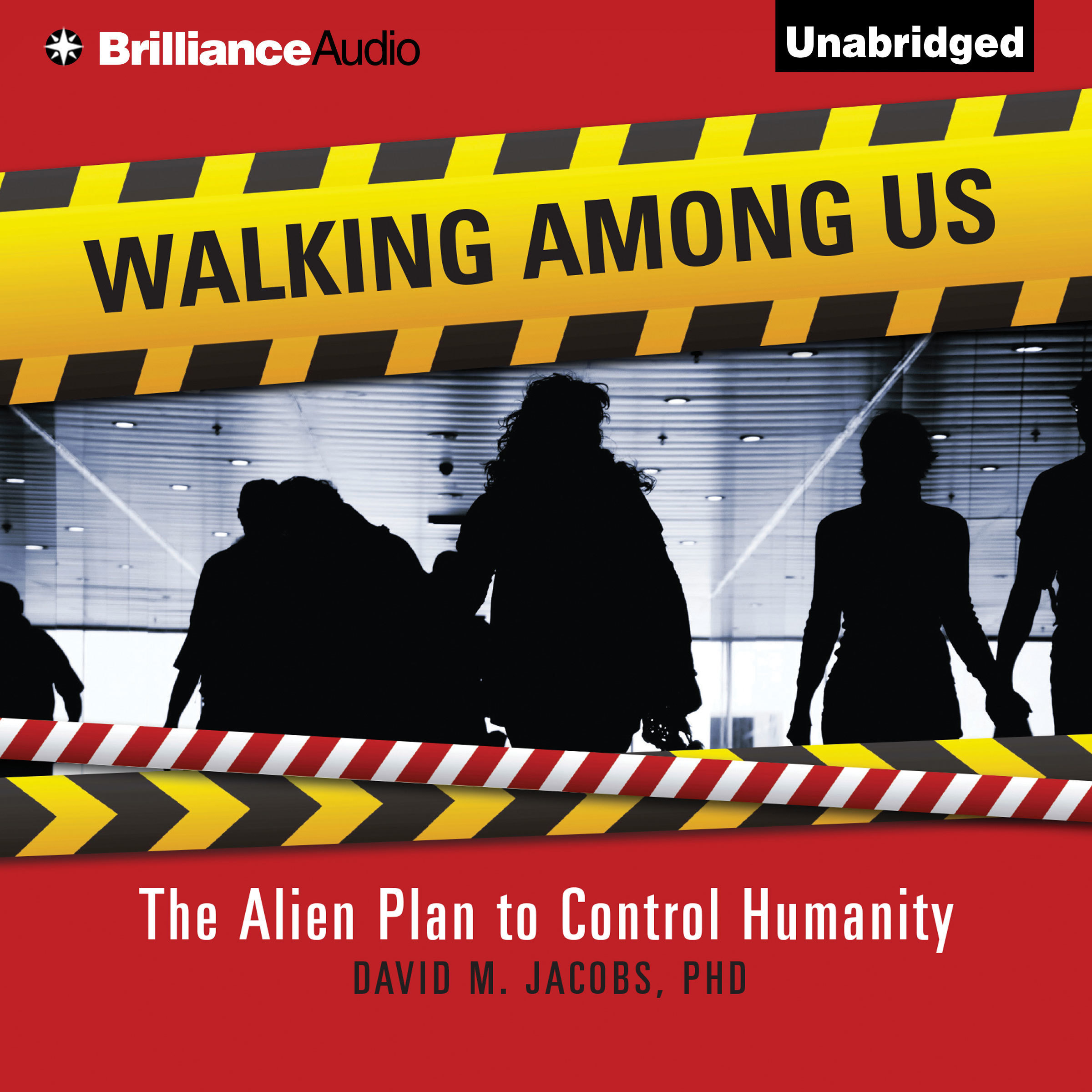 Printable Walking Among Us: The Alien Plan to Control Humanity Audiobook Cover Art