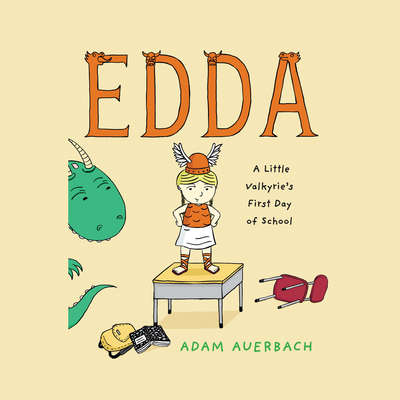 Edda: A Little Valkyrie's First Day of School Audiobook, by Adam Auerbach