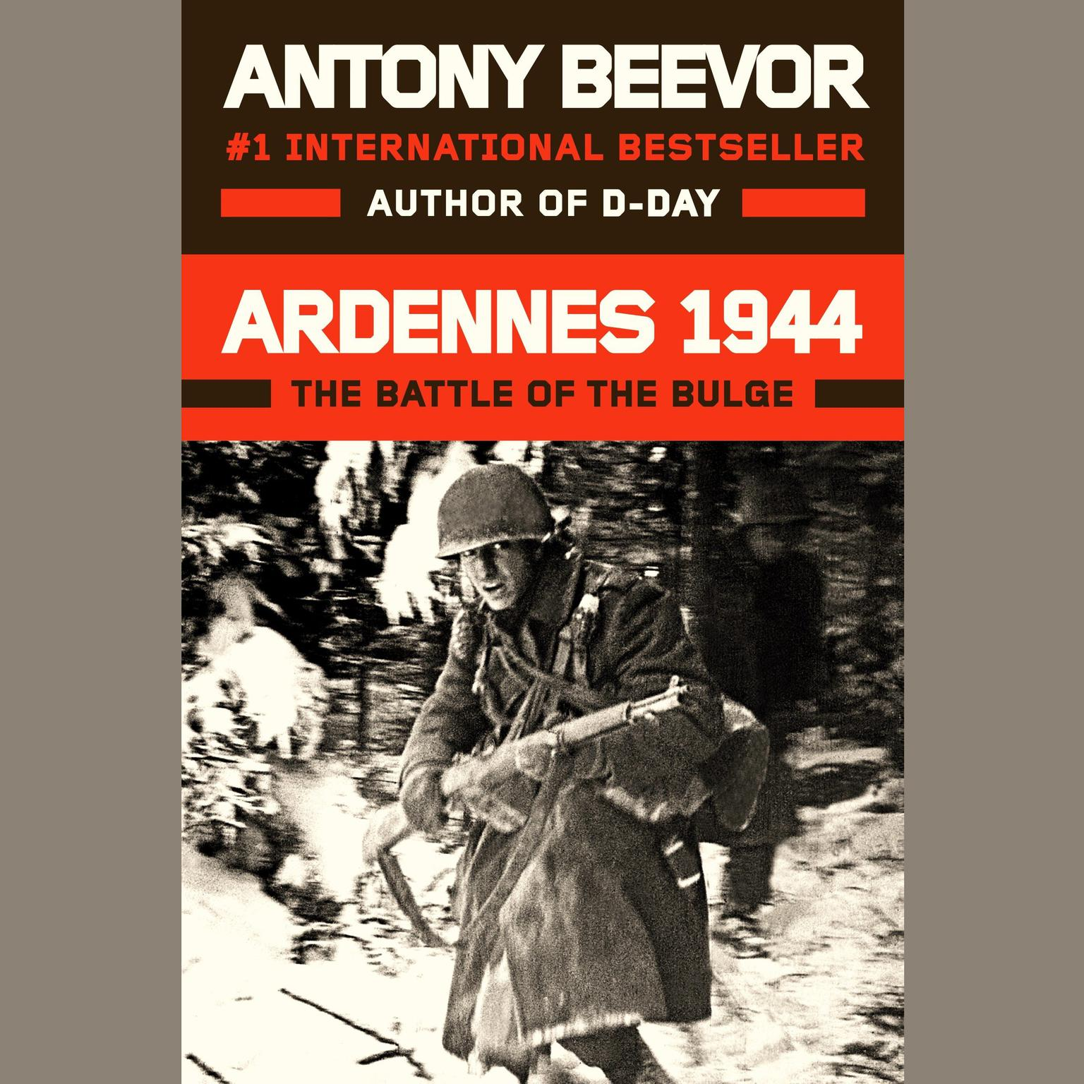 Printable Ardennes 1944: The Battle of the Bulge Audiobook Cover Art