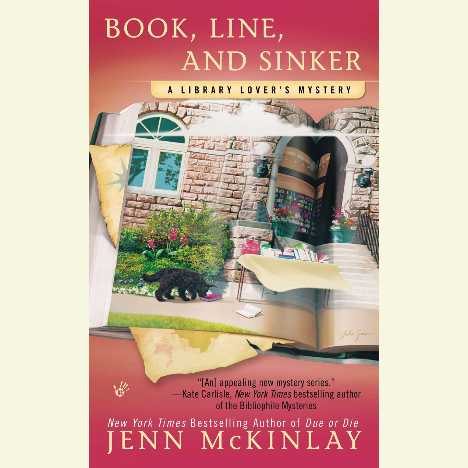 Printable Book, Line, and Sinker Audiobook Cover Art