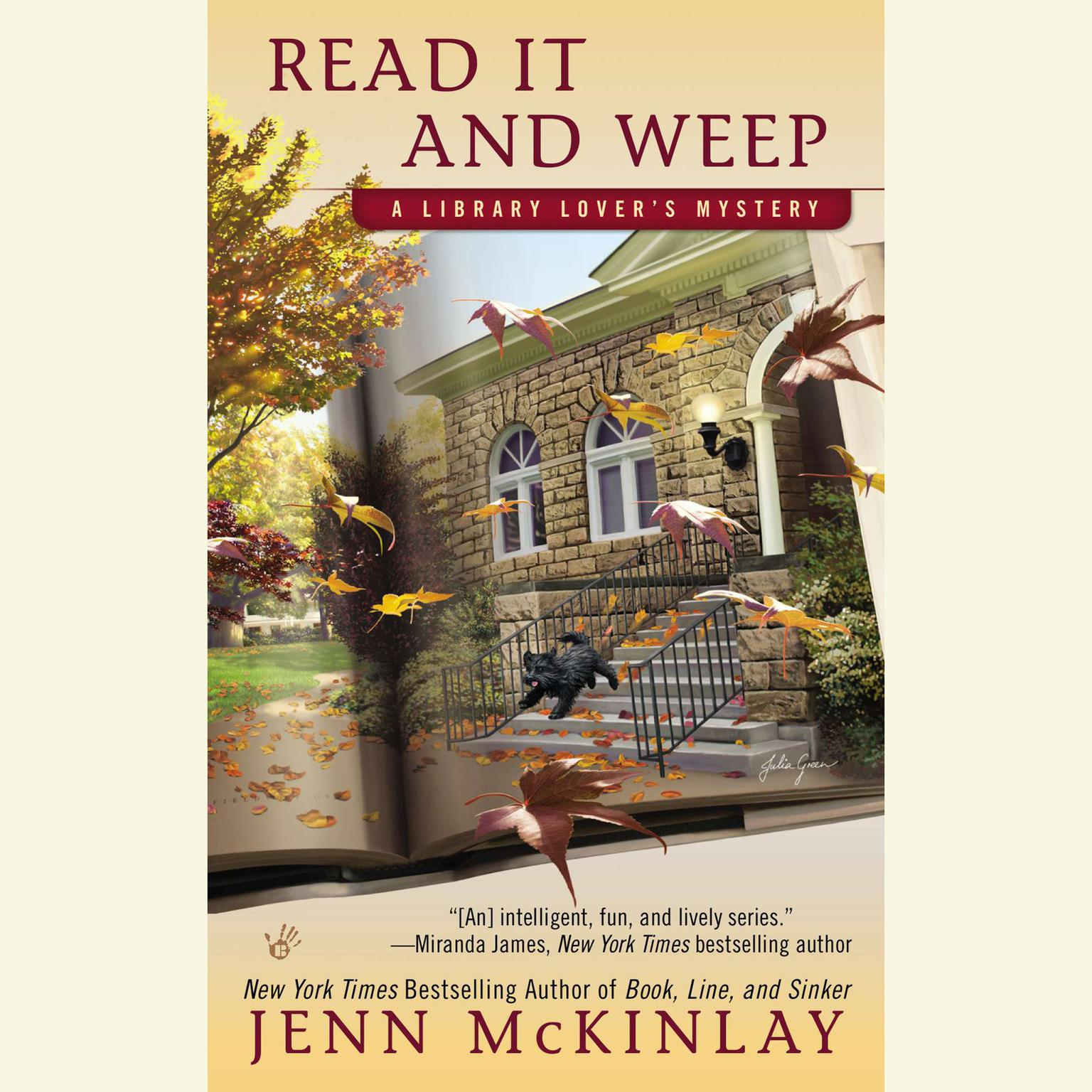 Printable Read It and Weep Audiobook Cover Art