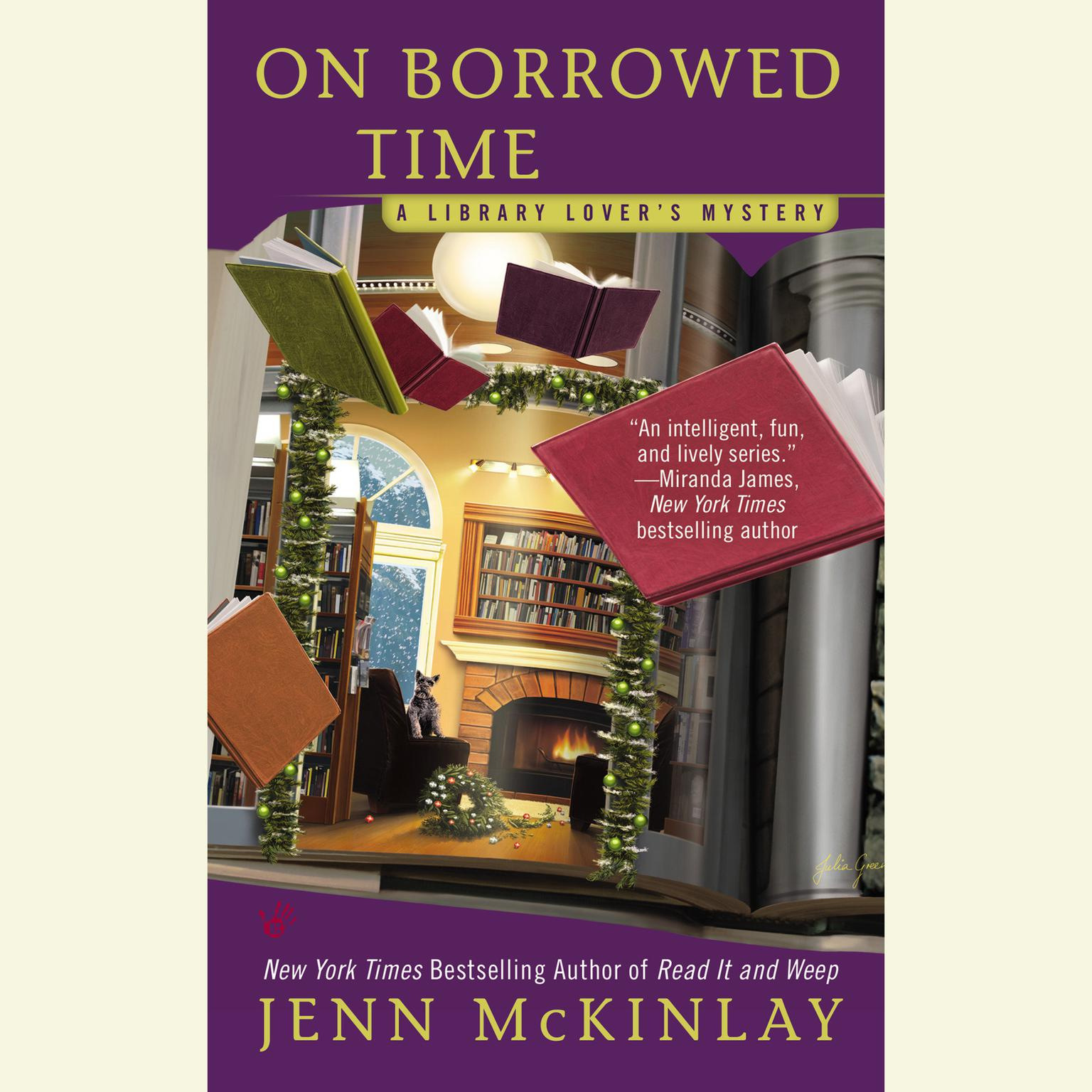 Printable On Borrowed Time Audiobook Cover Art