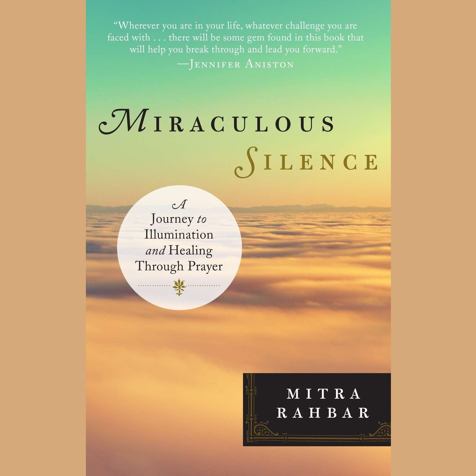 Printable Miraculous Silence: A Journey to Illumination and Healing Through Prayer Audiobook Cover Art