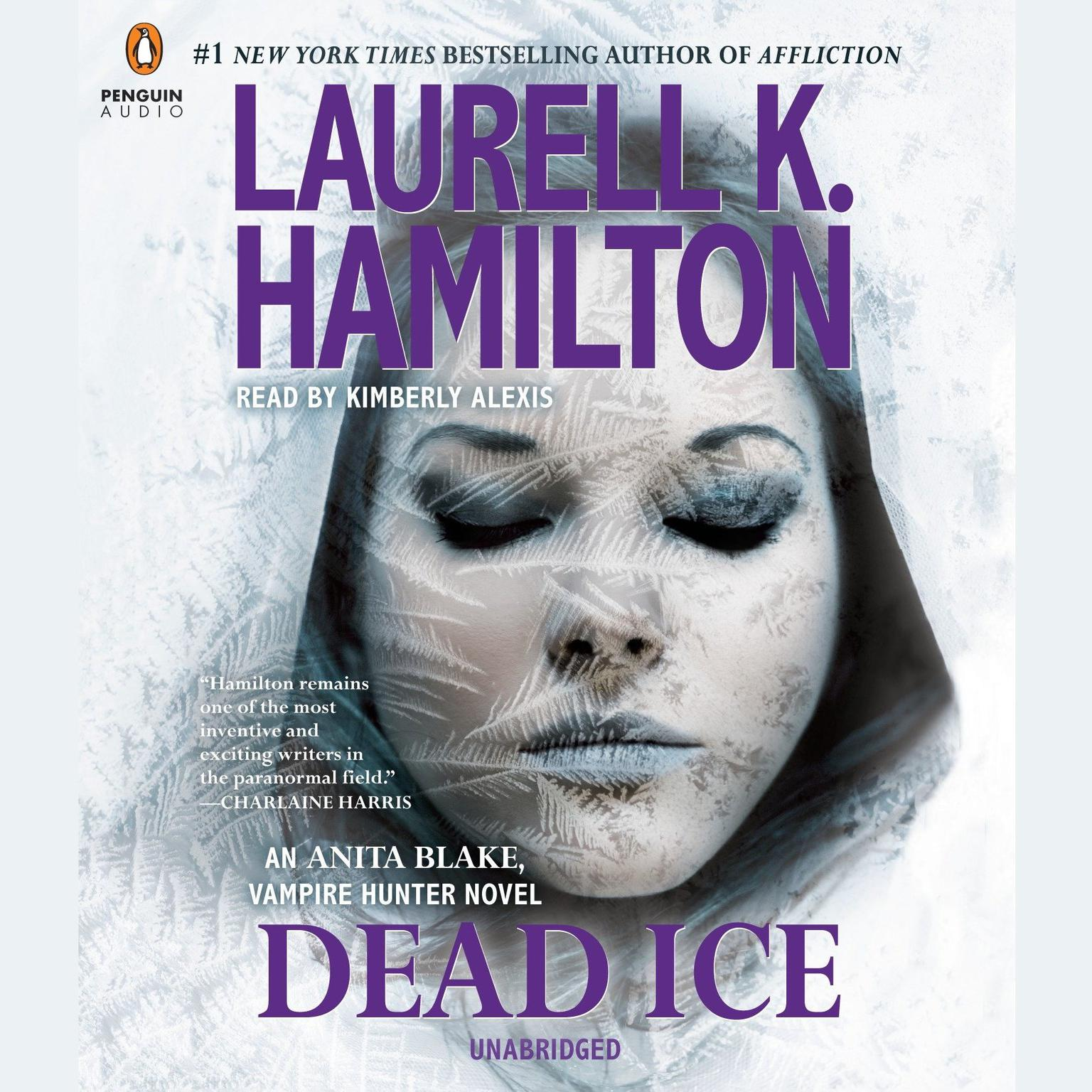 Printable Dead Ice: An Anita Blake, Vampire Hunter Novel Audiobook Cover Art