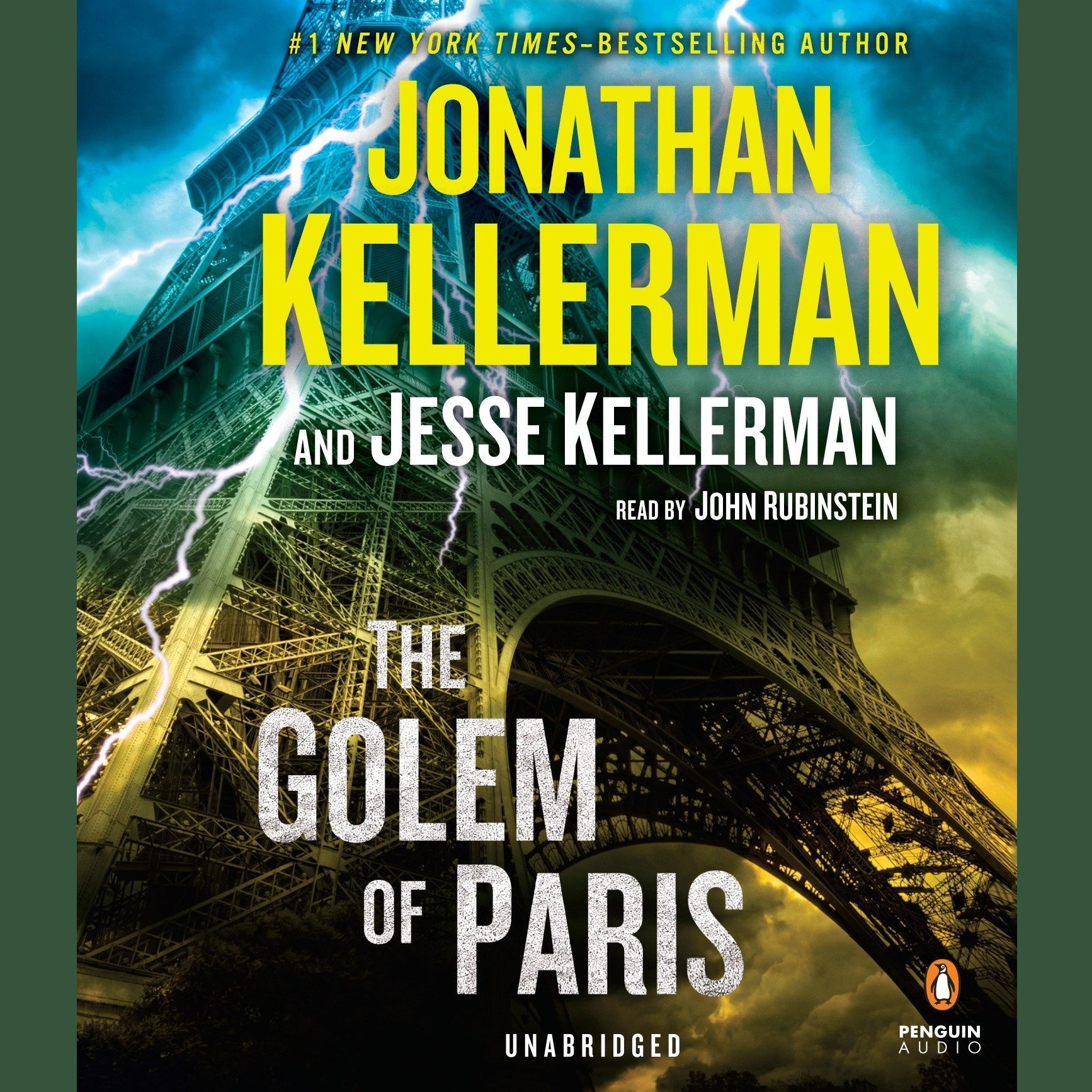 Printable The Golem of Paris Audiobook Cover Art