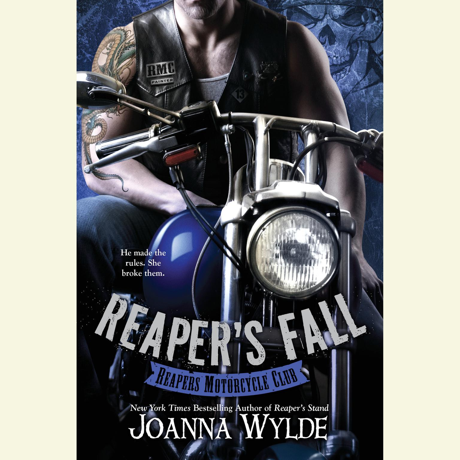 Printable Reaper's Fall Audiobook Cover Art