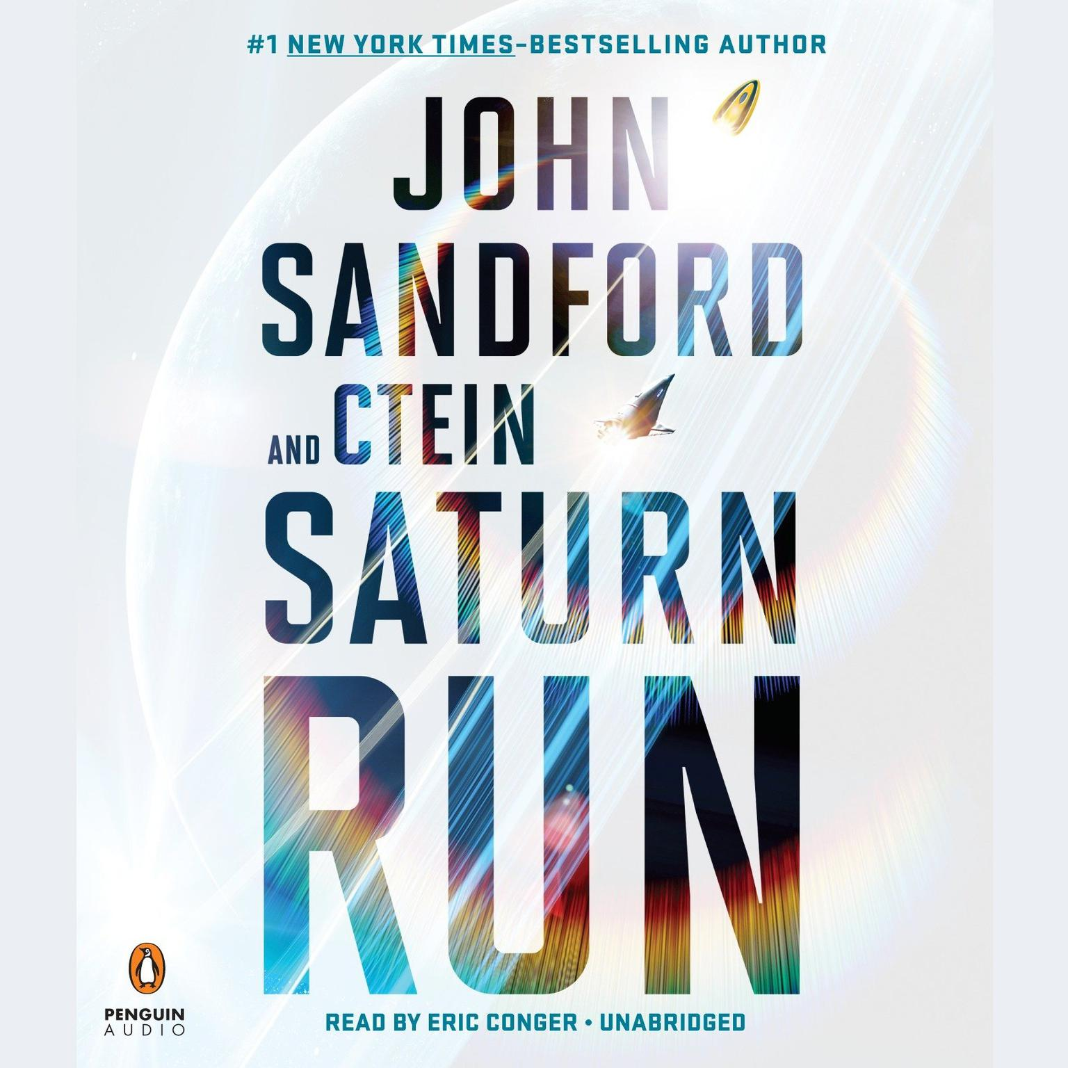 Printable Saturn Run Audiobook Cover Art