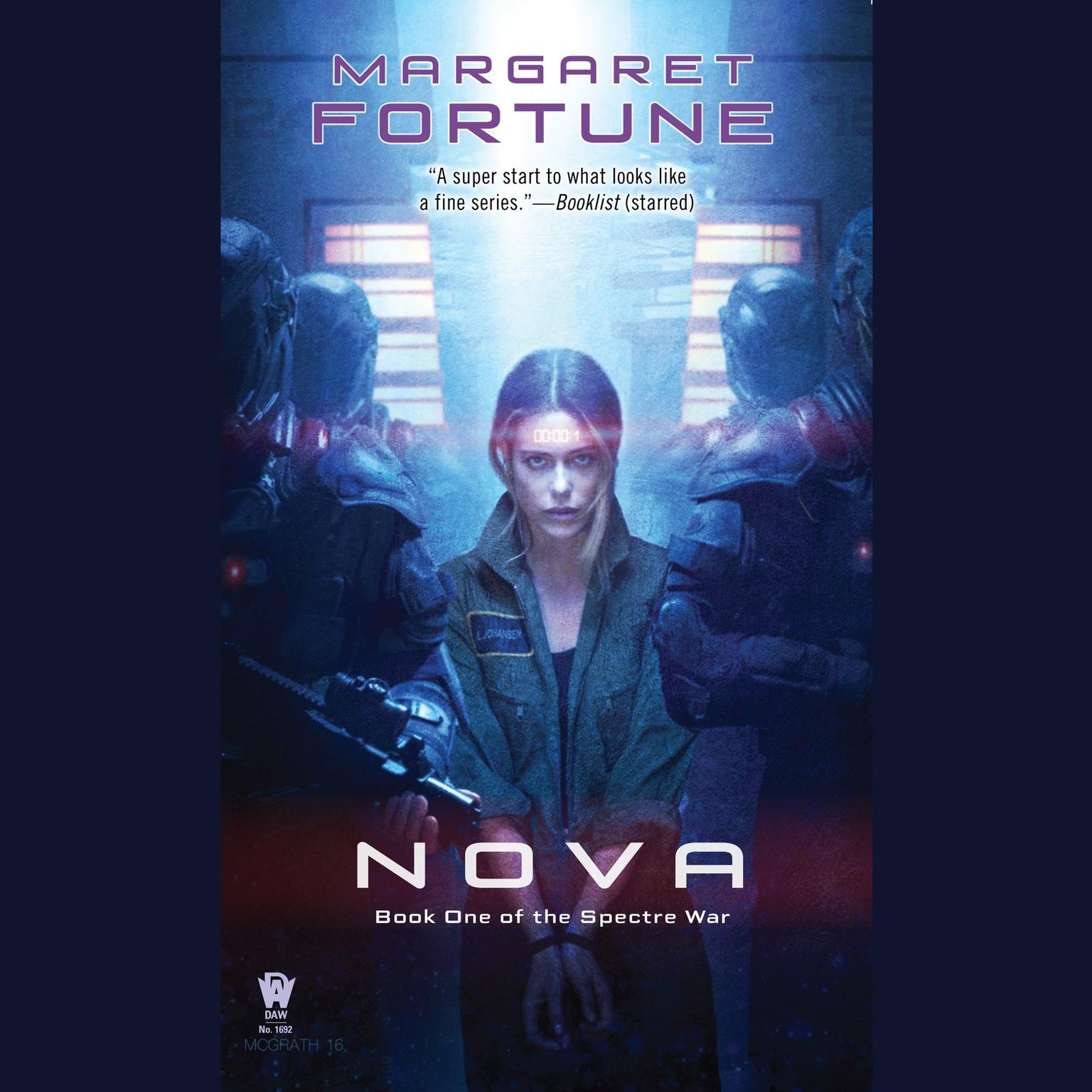 Printable Nova Audiobook Cover Art