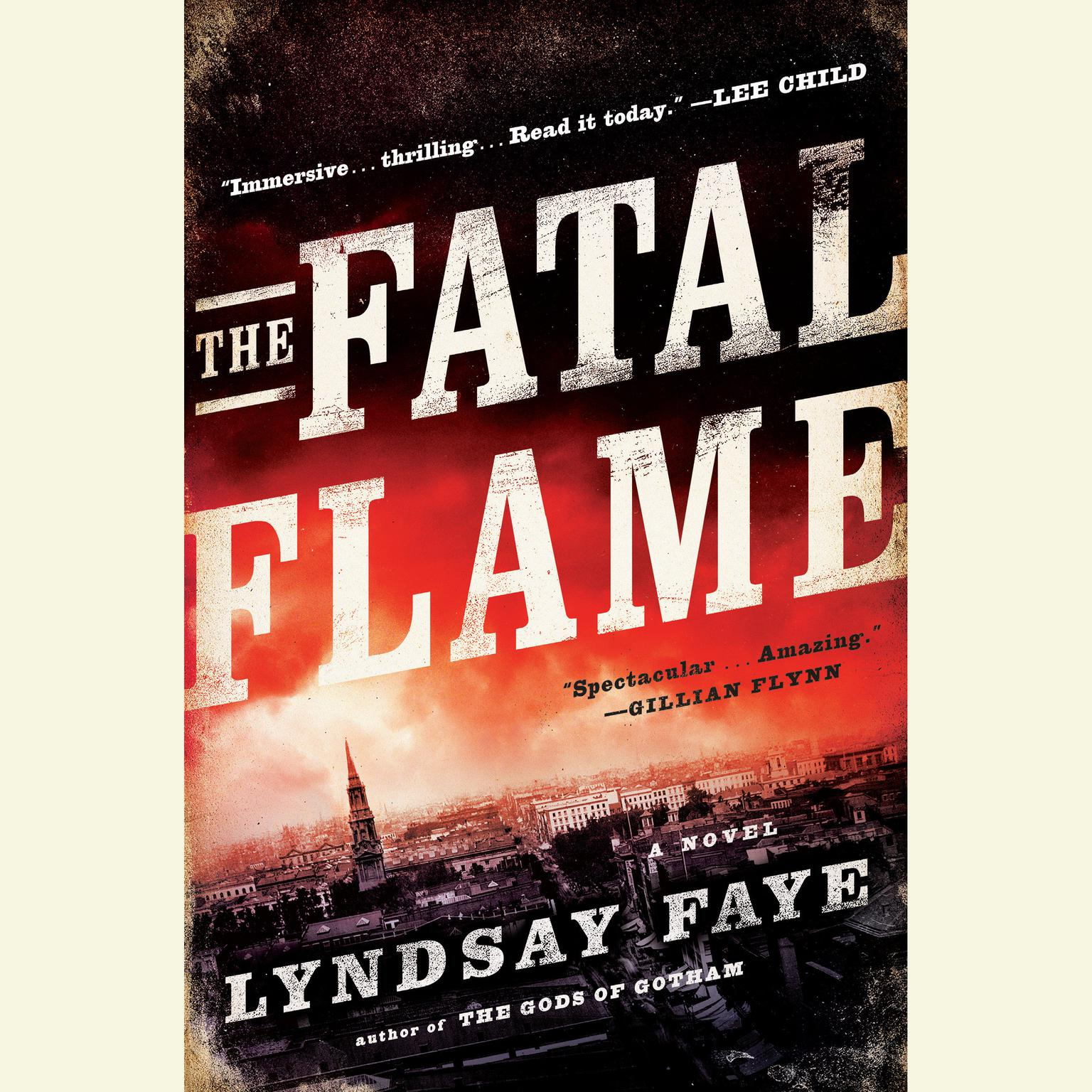 Printable The Fatal Flame: A Novel Audiobook Cover Art