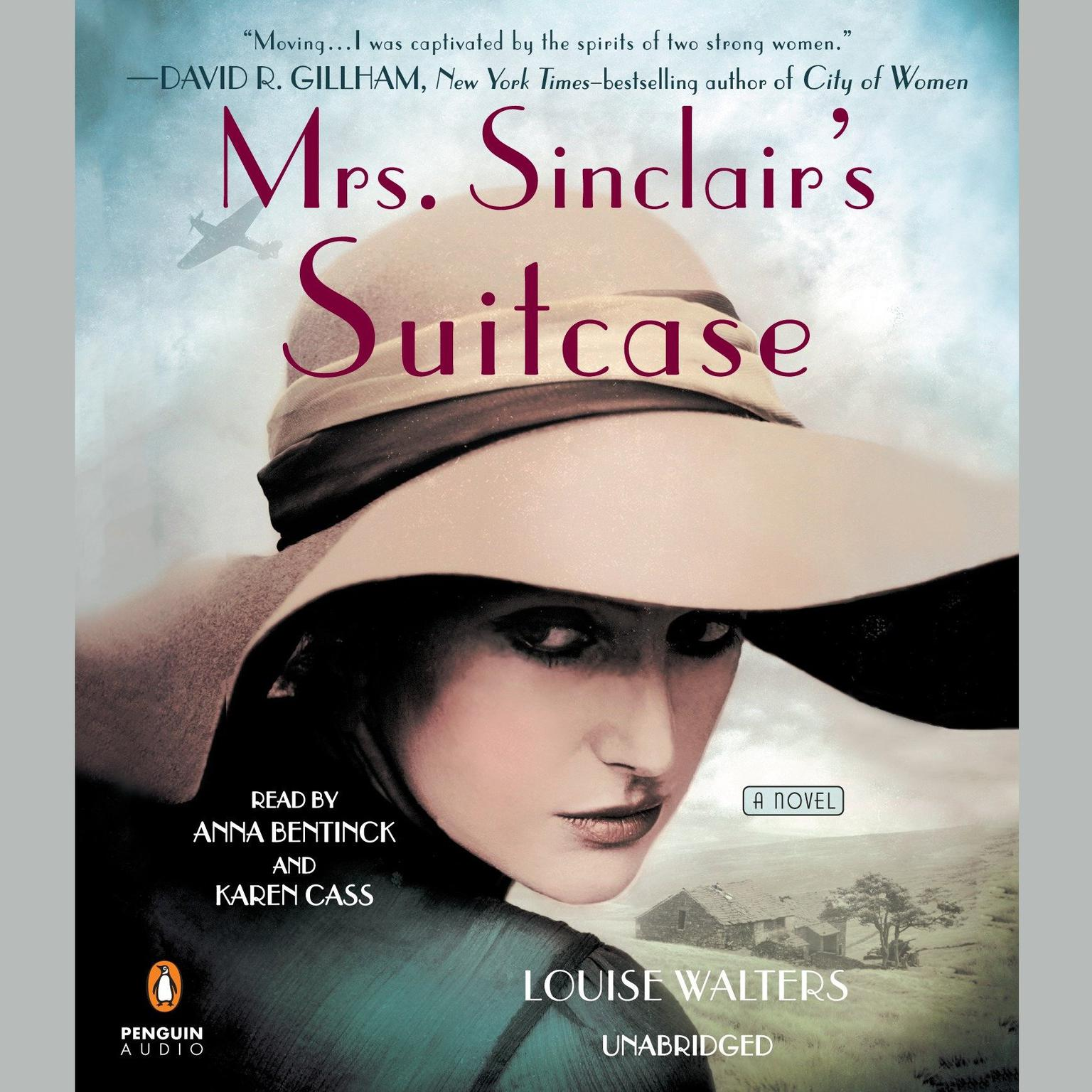 Printable Mrs. Sinclair's Suitcase Audiobook Cover Art