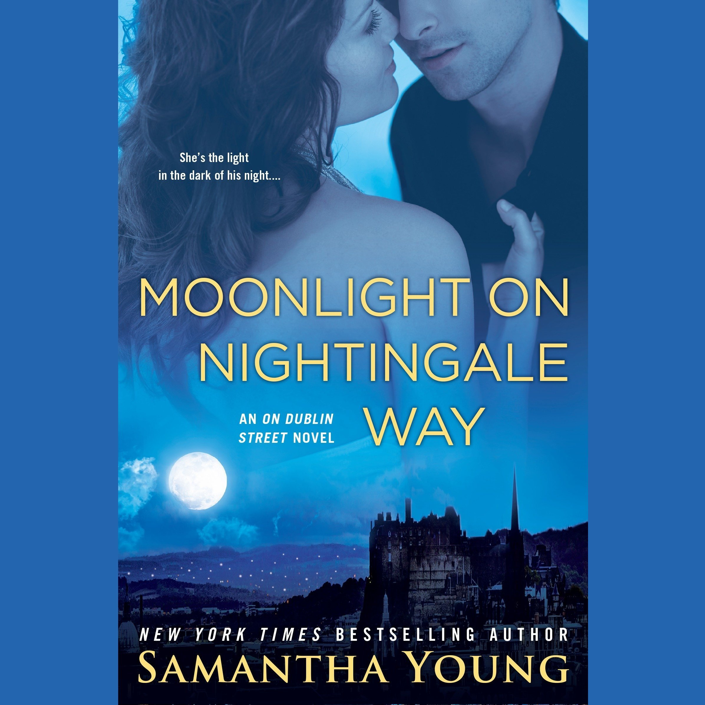 Printable Moonlight on Nightingale Way: An On Dublin Street Novel Audiobook Cover Art