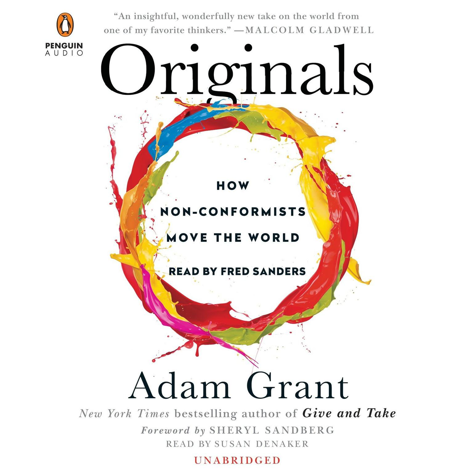 Printable Originals: How Non-Conformists Move the World Audiobook Cover Art