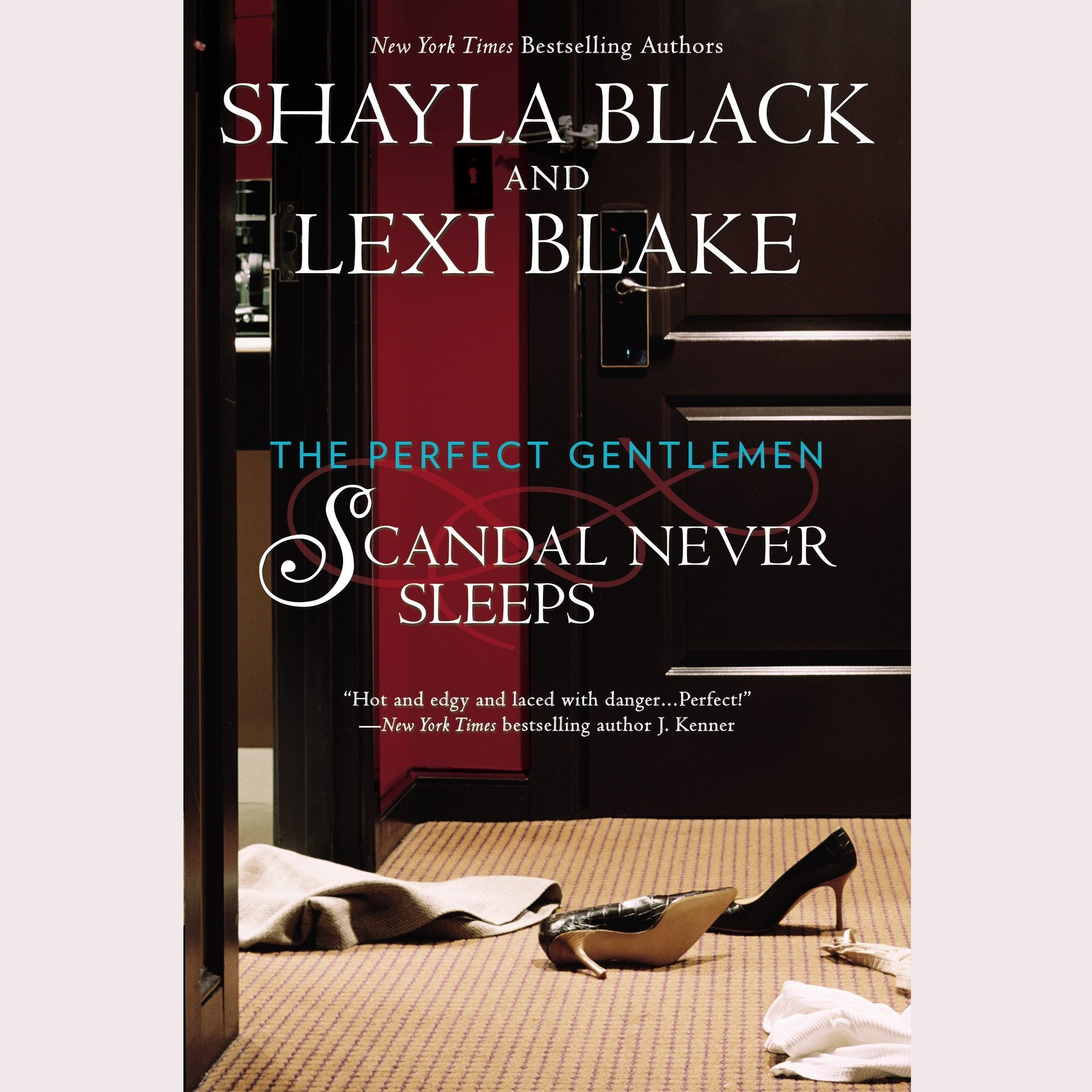 Printable Scandal Never Sleeps Audiobook Cover Art