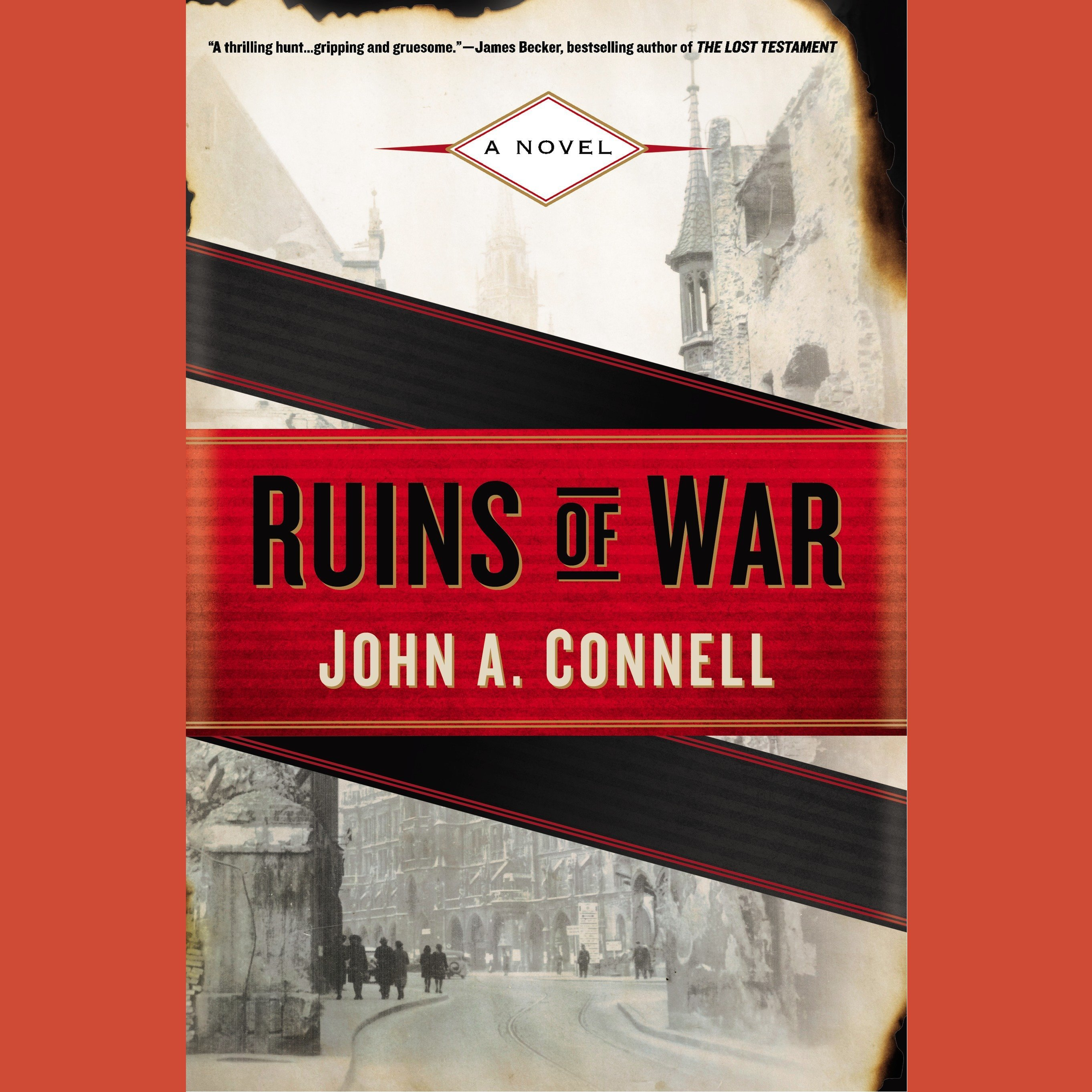 Printable Ruins of War: A Novel Audiobook Cover Art