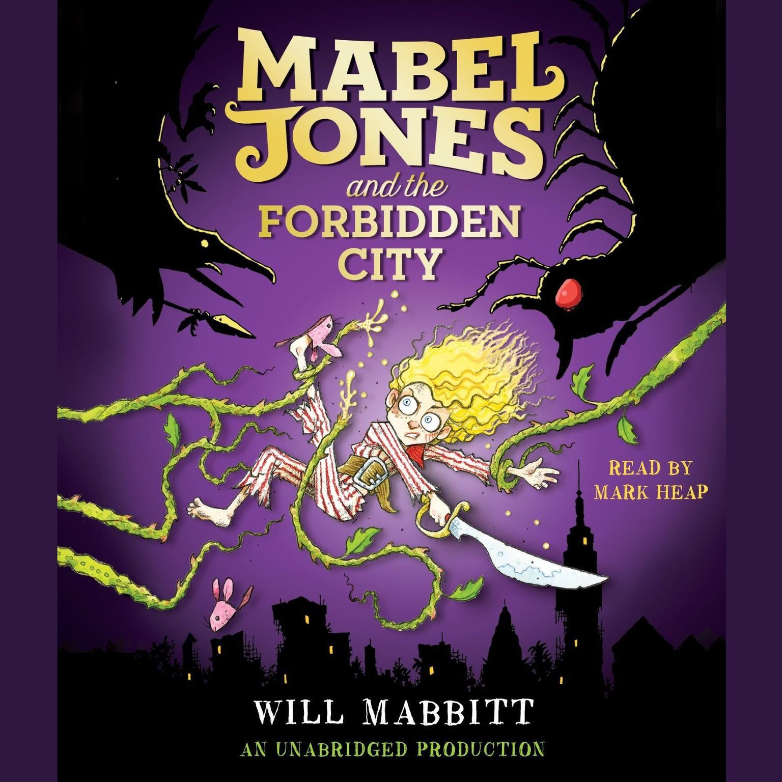 Printable Mabel Jones and the Forbidden City Audiobook Cover Art