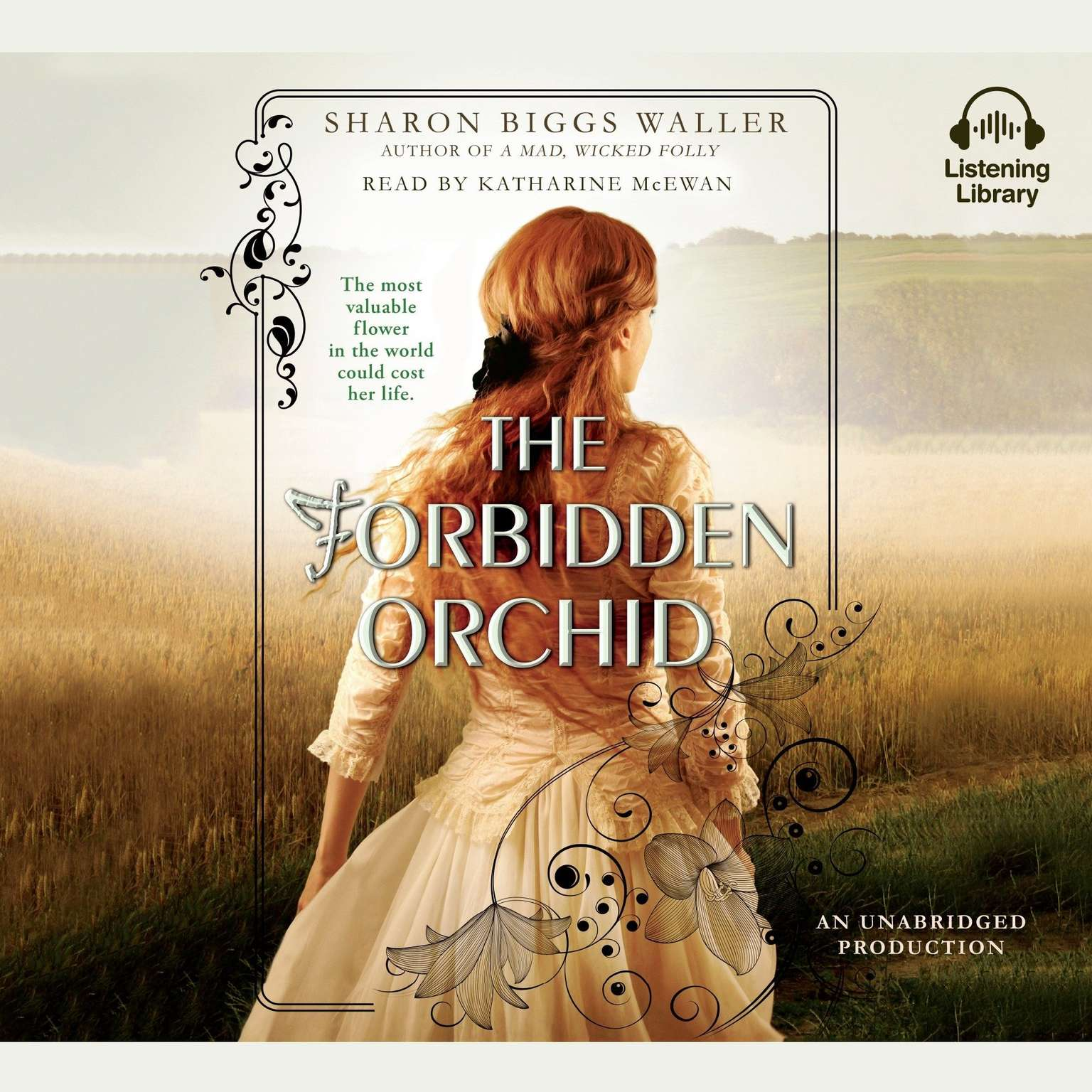 Printable The Forbidden Orchid Audiobook Cover Art