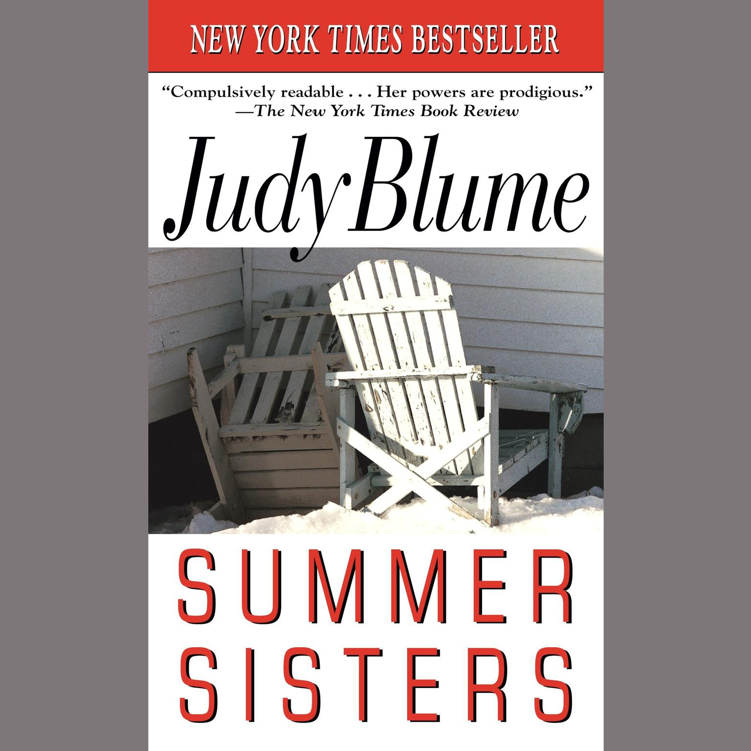 Printable Summer Sisters Audiobook Cover Art