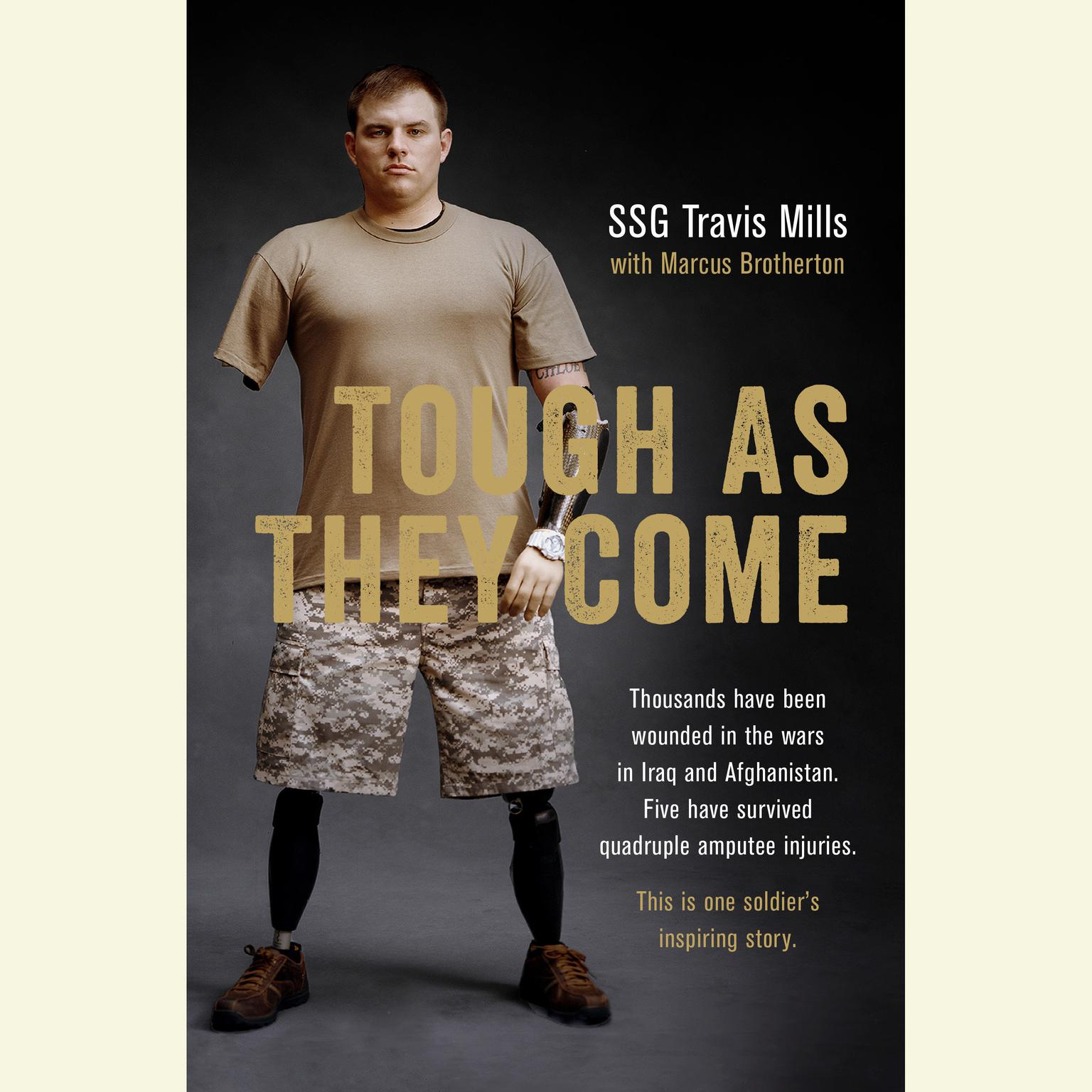 Printable Tough As They Come: A Memoir Audiobook Cover Art