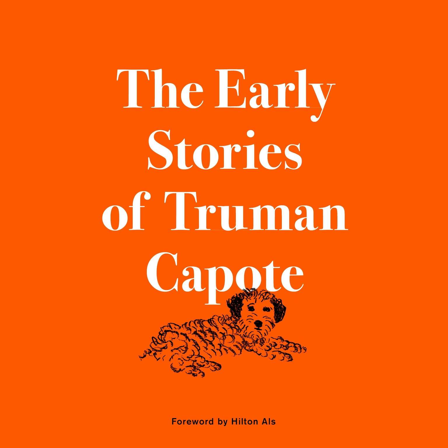 Printable The Early Stories of Truman Capote Audiobook Cover Art