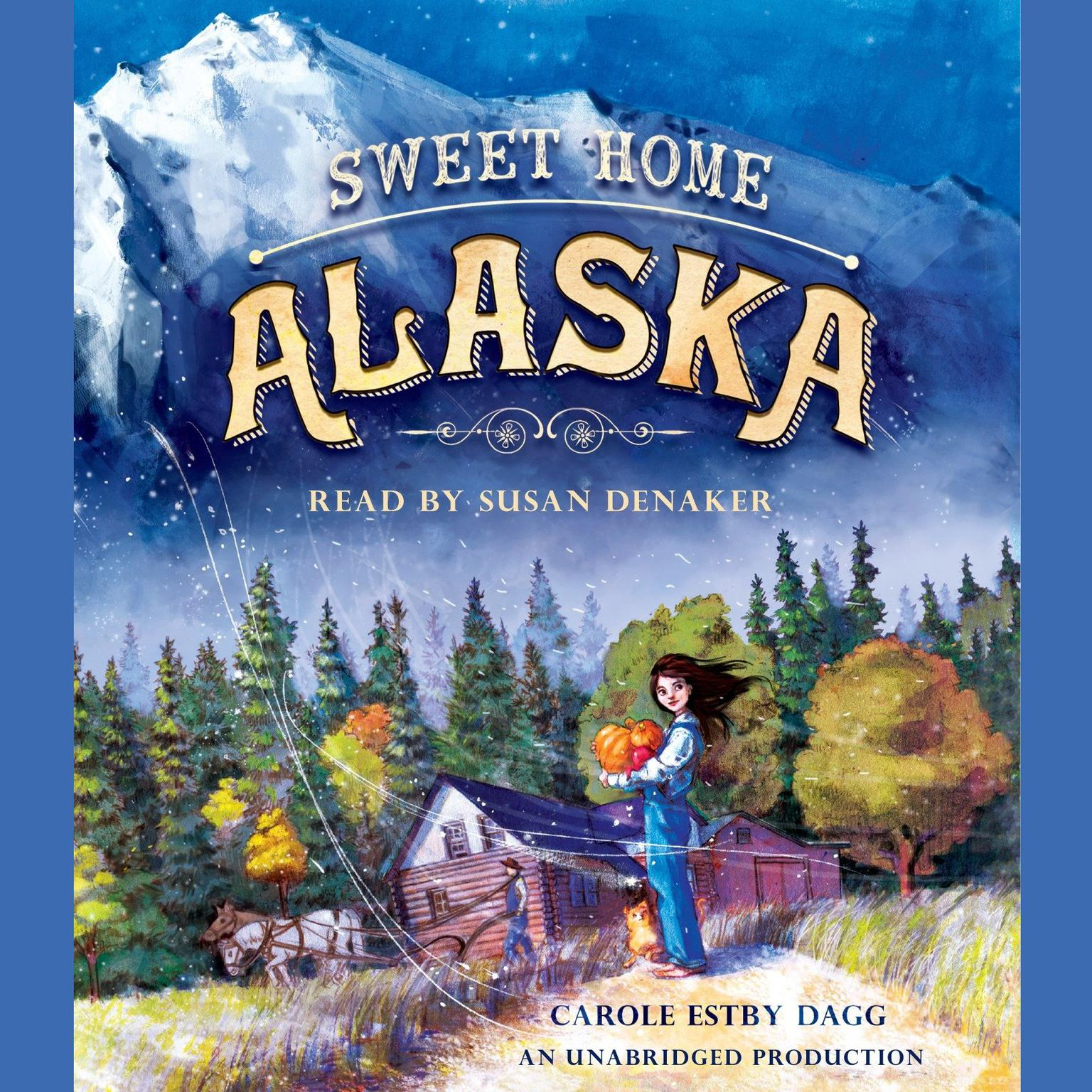 Printable Sweet Home Alaska Audiobook Cover Art