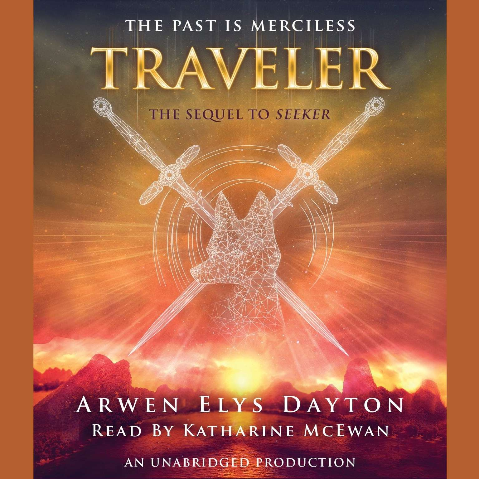 Printable Traveler Audiobook Cover Art