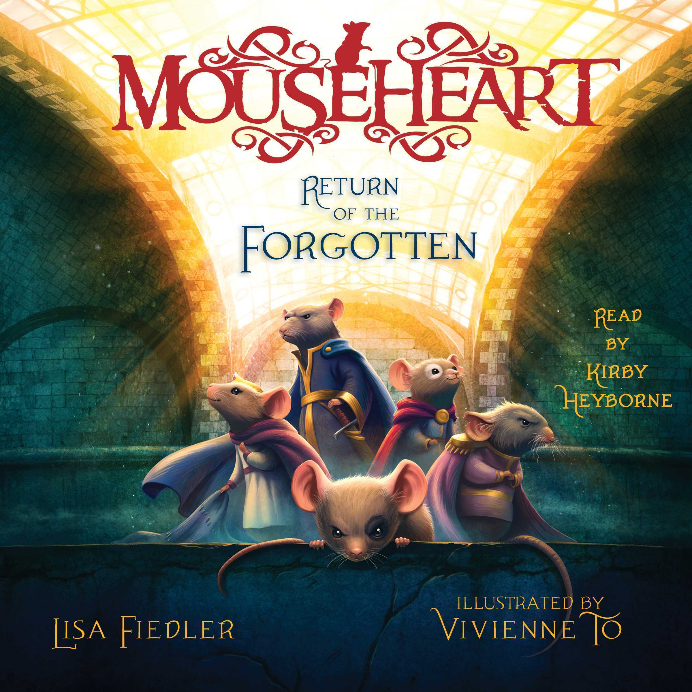 Printable Return of the Forgotten Audiobook Cover Art