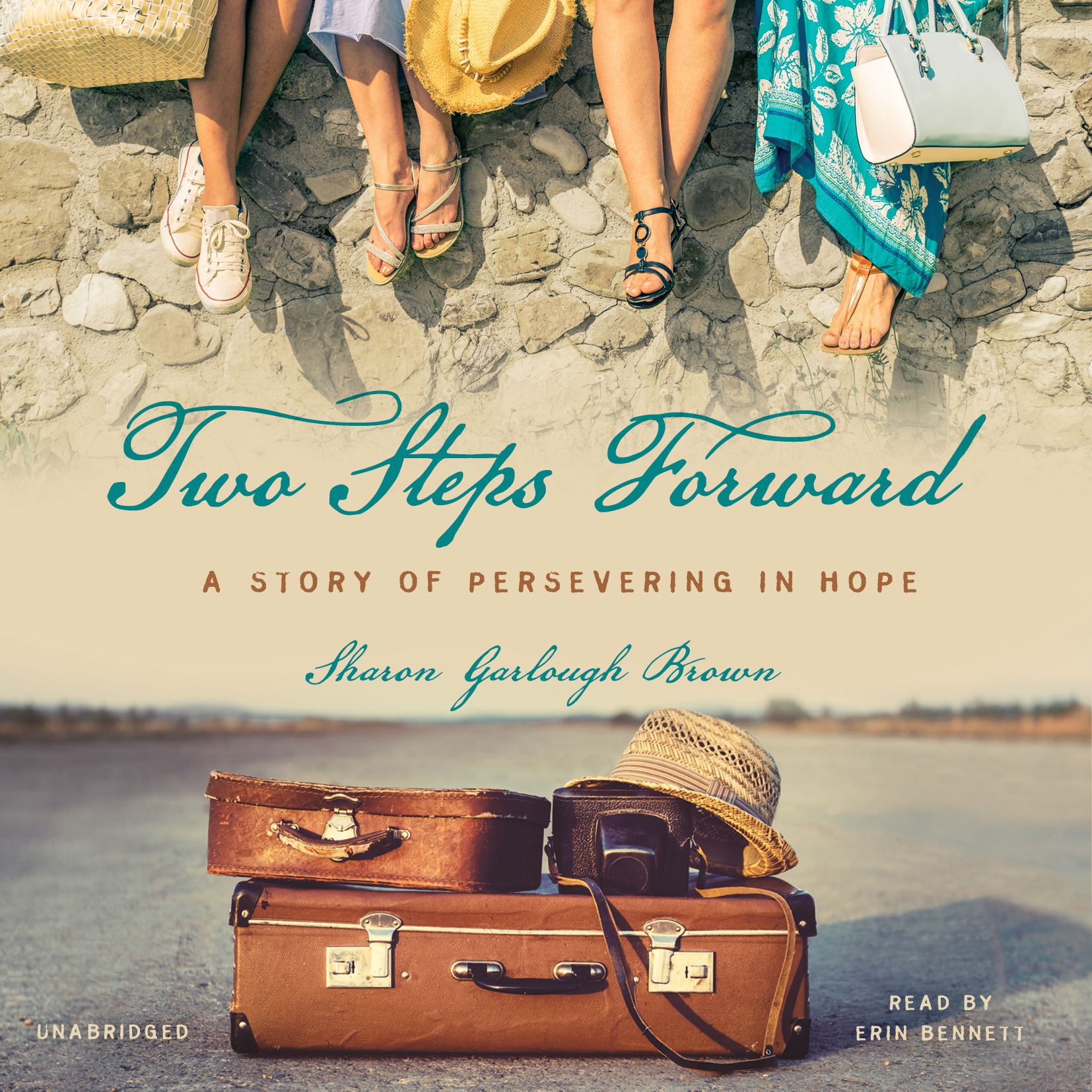 Printable Two Steps Forward: A Story of Persevering in Hope Audiobook Cover Art