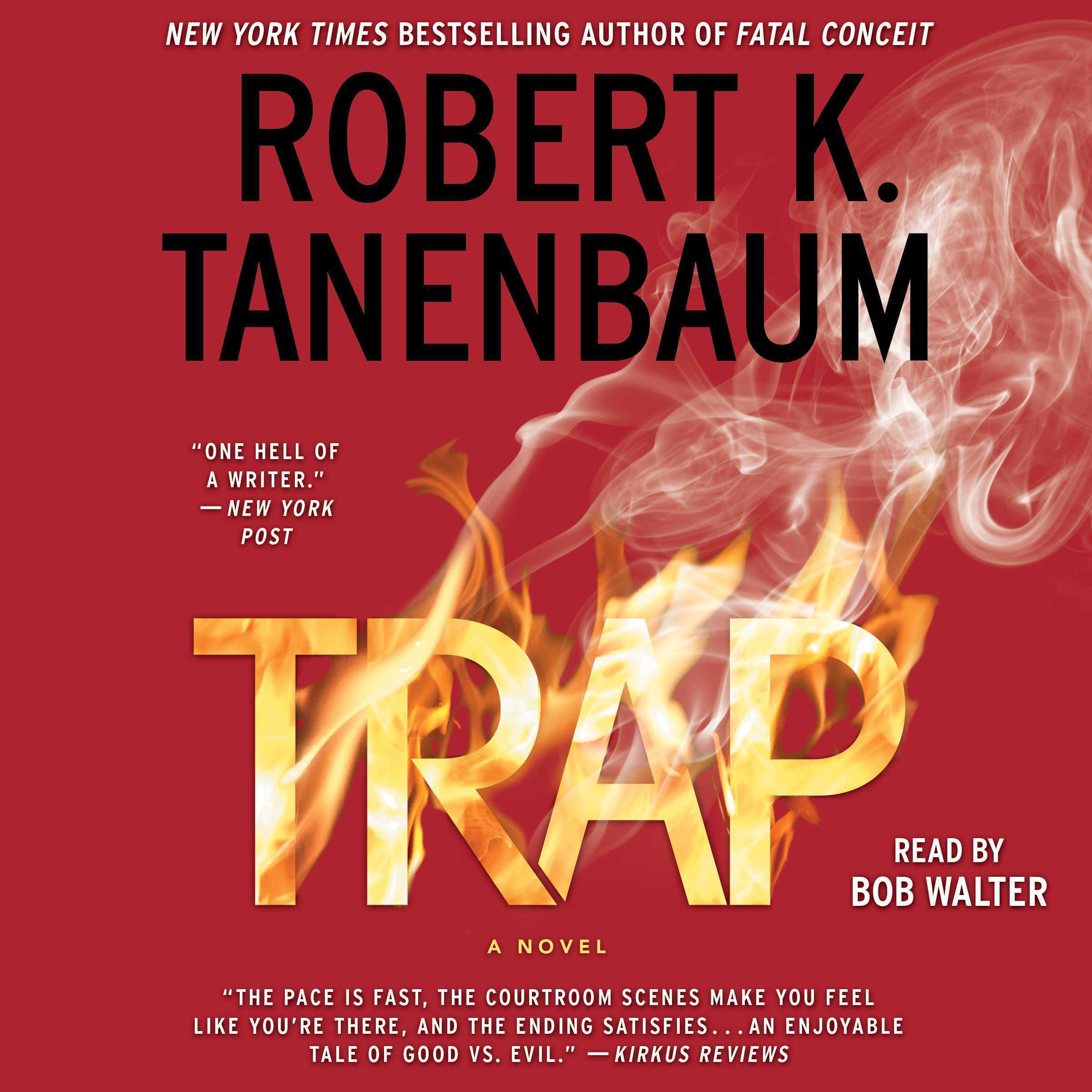 Printable Trap Audiobook Cover Art