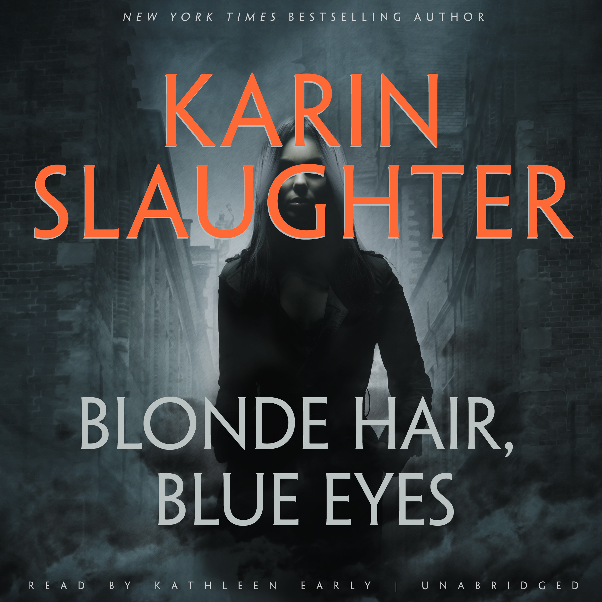 Printable Blonde Hair, Blue Eyes Audiobook Cover Art