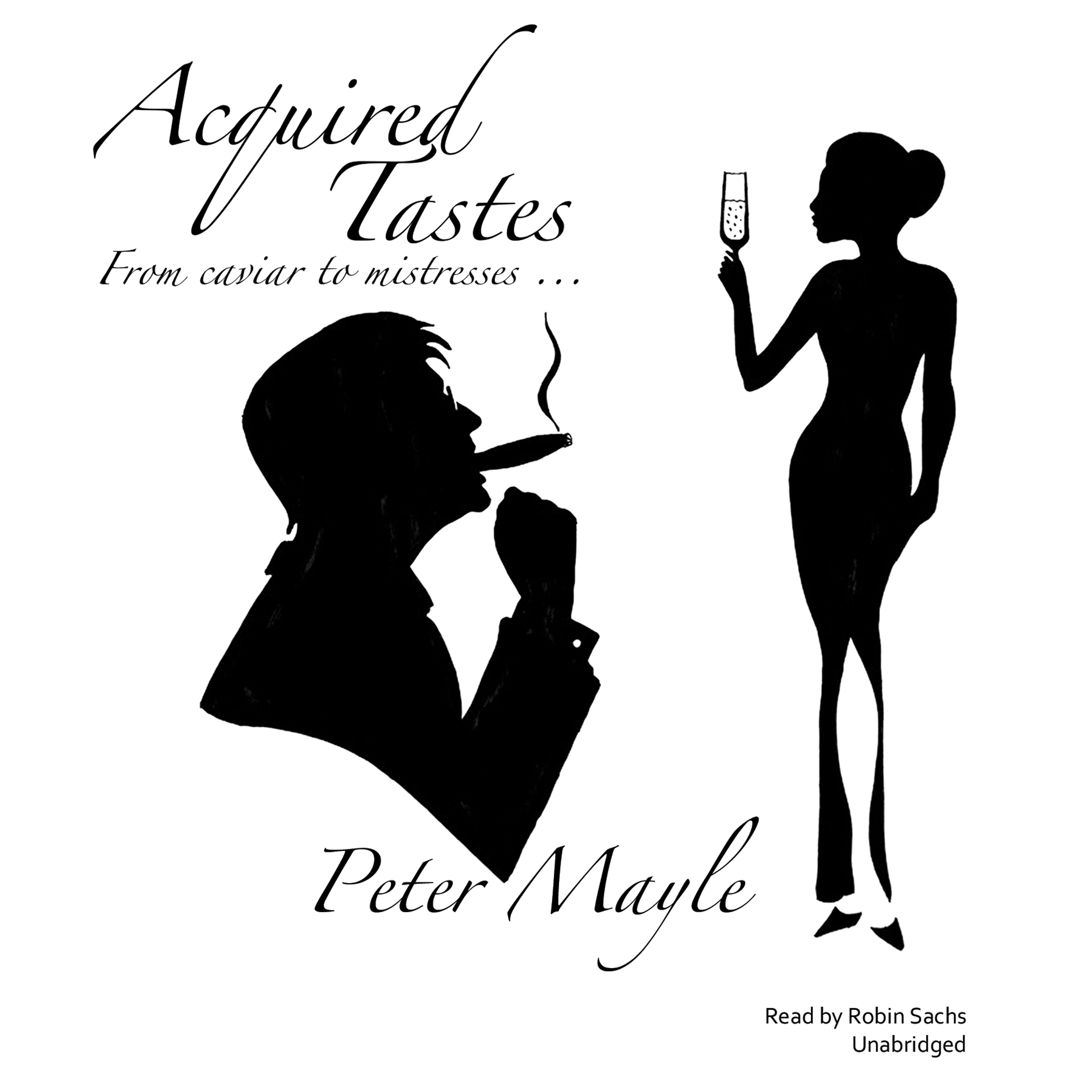 Printable Acquired Tastes Audiobook Cover Art