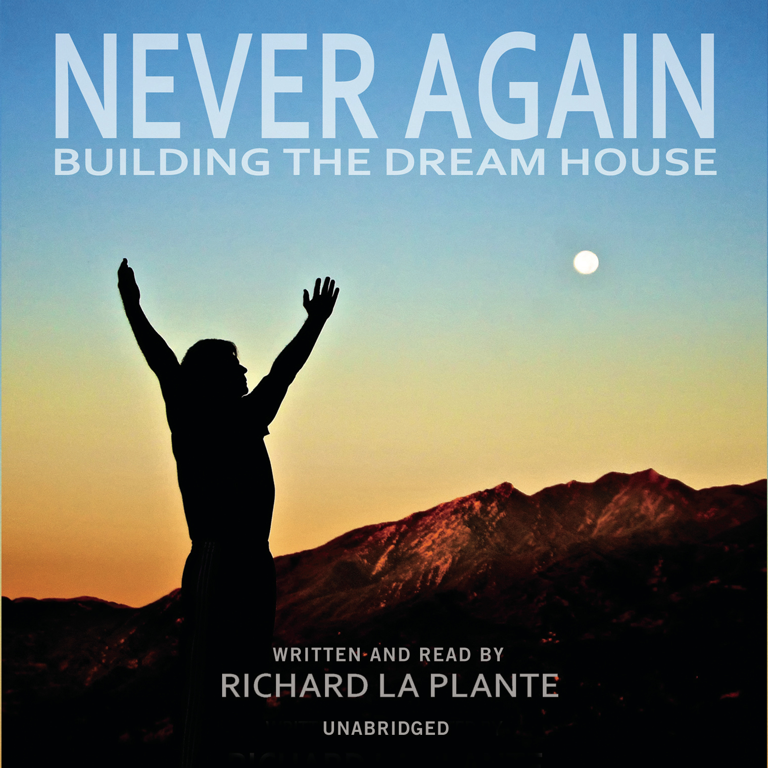 Printable Never Again: Building the Dream House Audiobook Cover Art