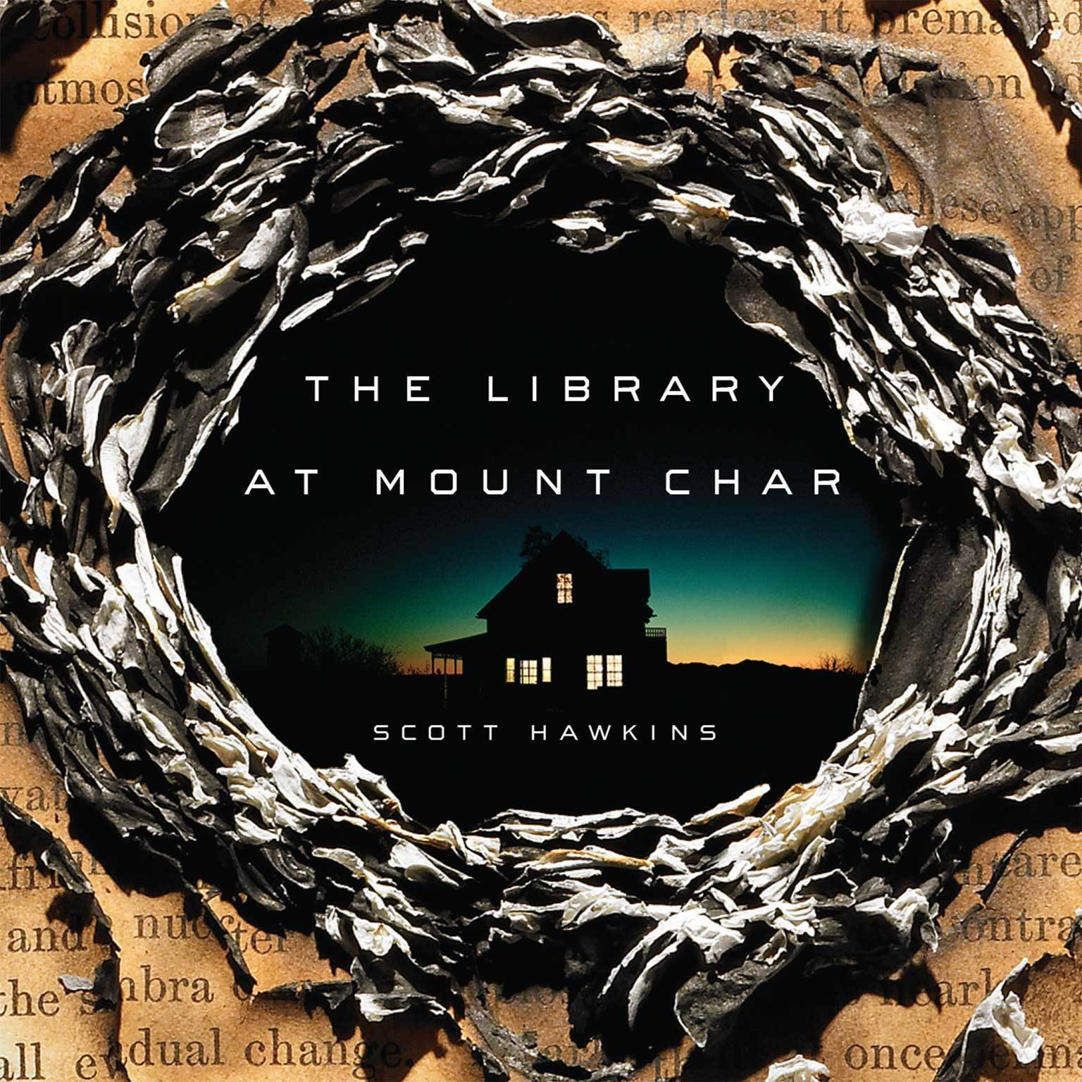 Printable The Library at Mount Char Audiobook Cover Art