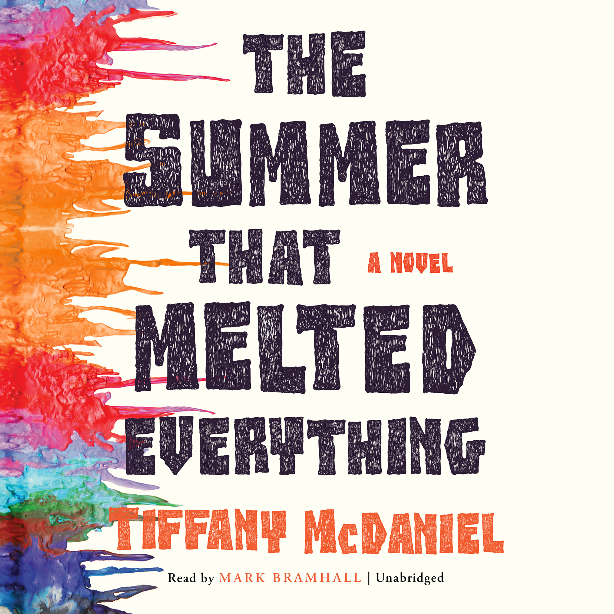 Printable The Summer That Melted Everything Audiobook Cover Art