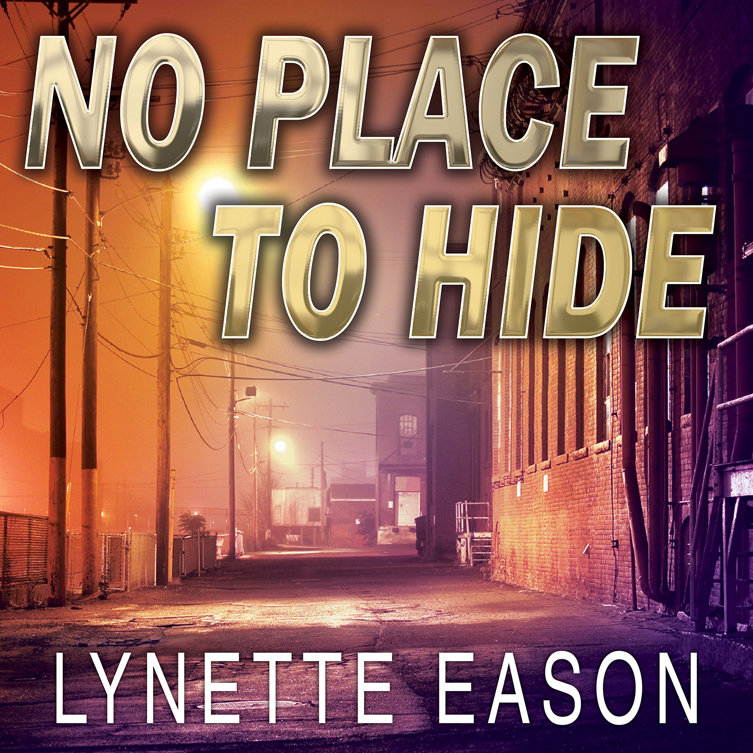 Printable No Place to Hide Audiobook Cover Art