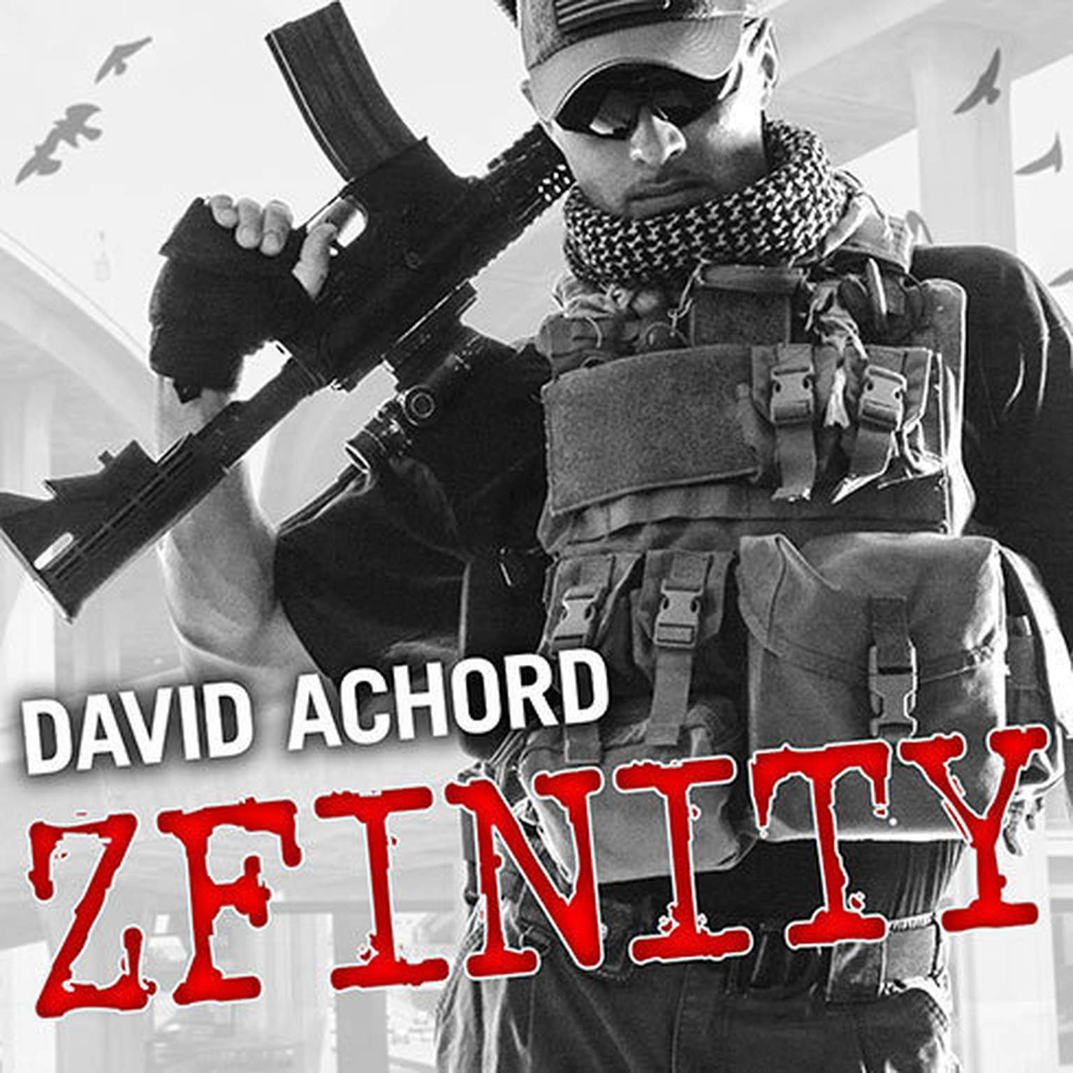 Printable ZFINITY Audiobook Cover Art