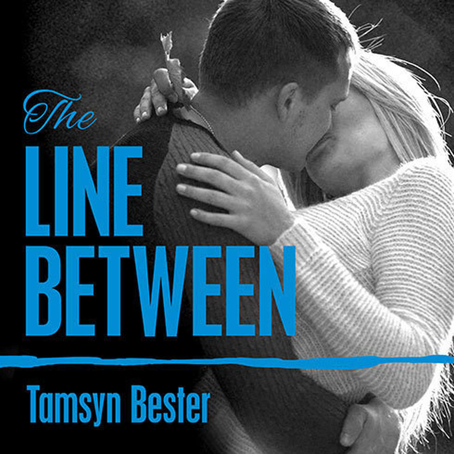 Printable The Line Between Audiobook Cover Art