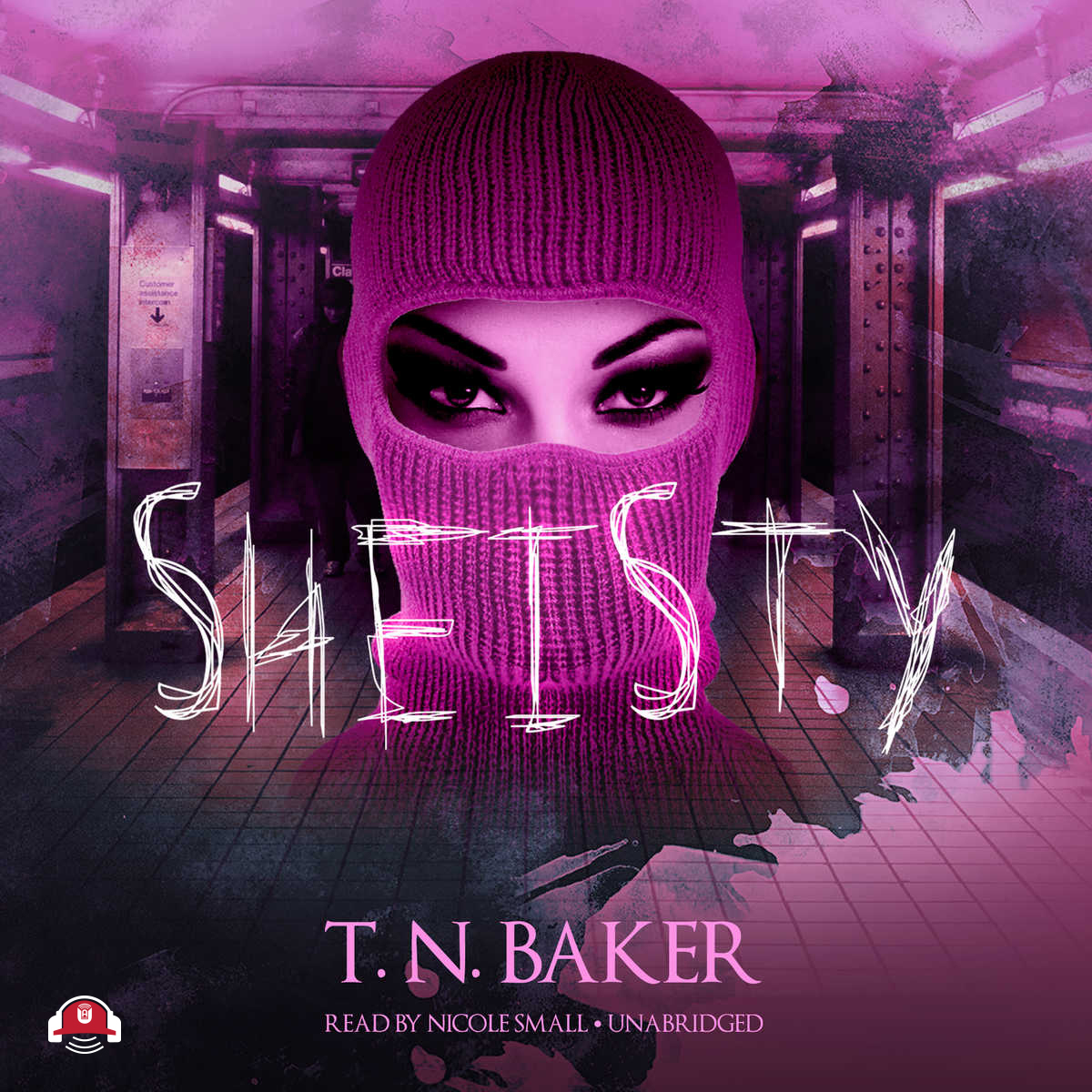 Printable Sheisty  Audiobook Cover Art